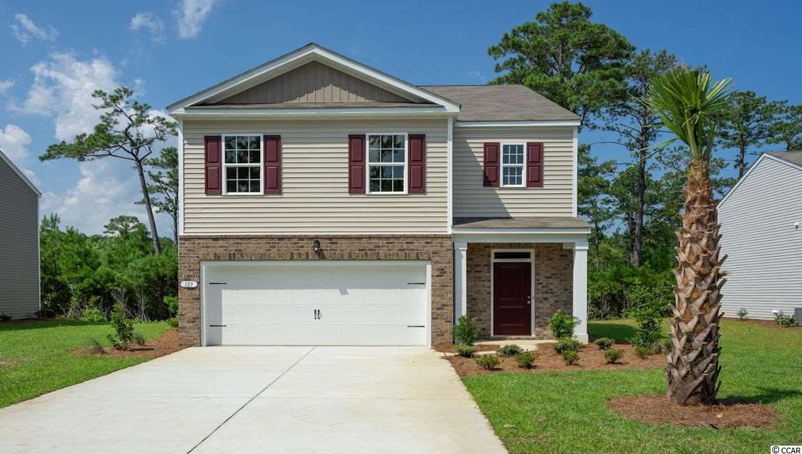 """JUST included a deck 10'x12' off the rear!! Parkside at Pawleys , a brand new community with both one and two story homes ranging in size from 1350 to 2400 square feet heated. Only a short drive to the Beach!!! Plus located in the coveted Waccamaw School district. The """"Robie plan"""" is a wonderfully popular home featuring 5 Bedrooms and 2 baths an efficient open plan that is great for entertaining family and friends!! Accented with a great Kitchen with stainless steel Frigidaire appliances , granite counters in the Kitchen , cultured marble vanities in the baths and beautiful RCB flooring in all the living areas, with 9 foot ceiling heights make this home truly a favorite! The flexibility offered by this home will make a great new home , come see us today! Pawleys Island Beaches are only a short ride away!! Home and community information, including pricing, included features, terms, availability and amenities, are subject to change and prior sale at any time without notice or obligation. Square footages are approximate. Pictures, photographs, colors, features, and sizes are for illustration purposes only and will vary from the homes as built. Equal housing opportunity builder"""