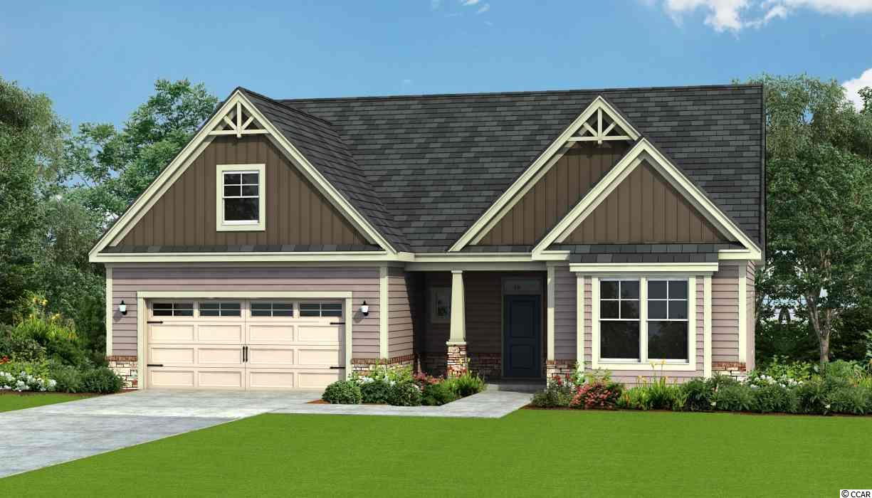 "Come see Astoria Park, Newest Natural Gas Community in South Carolina. The Wrightsville can be built as a 1 or 2 story home and boasts a wide open floor plan with huge center island in kitchen with granite counter tops. 4 bedrooms, 3 baths backing up to the trees! Pictures are representations of similar home built. THE H&H ADVANTAGE Energy Saving Features • ecoSelectTM Certification • TRANE® 14 Seer Energy Efficient HVAC System with Variable Speed Air Handler & Programmable Thermostats • 95% Efficient Gas Furnace • HVAC Fresh Air Intake & Upgraded 80 CFM Bath Fans • 40 Gallon Gas Water Heater • Insulated & Weather Stripped Pull Down Attic Stairs/Plan Peace of Mind Features • 400 Point Quality Assurance Program conducted by an Experienced Third Party Licensed Home Inspector • 2-10 Home Buyer's Warranty & Online Service Requests • GEMS Great Expectation Management System • Taexx®: Built-in Pest Control System (*quarterly pest service not included) • Sentricon Termite Colony Elimination System (*first year semi-annual included) EXTERIOR FEATURES • 30 Year Architectural Shingles • Low Maintenance Vinyl Siding • Professional Landscaping Package with Sod to Front Corners of Home • Kwikset Brushed Nickel Lockset with Deadbolts • Masonite® Fiberglass Insulated Front Door (per plan) • Vinyl, Low-E, Insulated Windows w/Panes Per Plan • 2 Exterior Hose Bibs & Electrical Receptacles • Aluminum Gutters with Splash Blocks Wrap the Home INTERIOR FEATURES Designer Kitchen • Granite Countertops with 8"" Stainless Under Mount Sink • Cabinets: Staggered Height, Flat Panel • Stainless Faucet w/pullout Spray • 1/3 Horse Power Disposal • Frigidaire Appliances: Stainless Steel, Smooth Top, Self-Cleaning Electric Range, Over the Range Microwave & Dishwasher INTERIOR FEATURES (continued) Flooring • Mohawk Mohawk 5"" Bourbon Mill Laminate Floors in Foyer • Vinyl in all Baths and Laundry • Mohawk Carpet with 6 lb. pad Bathrooms • Garden Tub in Master Bath and Separate Walk in Fiberglass Shower with Glass Door • Adult Height Vanity(s) in All Baths • Cultured Marble Countertops • Easy Clean One-Piece Tub/Shower Combination in Common Bath(s) • Chrome Plumbing Fixtures & Accessories • Pedestal Sink in Powder (per plan) • Elongated, Water Sense Toilets in All Baths Electrical • USB Outlet in Kitchen • Phone Jacks – Family Room/Master/Rec Room or Bonus • Cable Jacks – Family Room/Bedrooms/Office/Rec Room or Bonus Overall Home • 9' First Floor Smooth Ceilings with, Coffered or Trey Ceilings per Plan • 2 Panel Textured Cathedral Style Interior Doors with Kwikset Brushed Nickel Hardware • 5 ¼ Baseboard, Shoe Mold • Ventilated Closet & Pantry Shelving • Fireplace is not included in the base price. It is an available option (per plan)"
