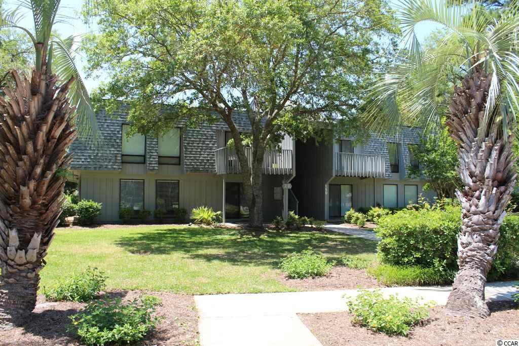 Beautifully updated condo on 2nd floor with 2 bedrooms, 1.5 Baths and an extended balcony. Renovated kitchen, new flooring, new vanities in the bathrooms. This condo is perfect for year round living or use as 2nd home! This unit has an outside storage closet for your beach equipment. Salt Marsh Cove is a well established community located on the creekside of Litchfield Mainland and is conveniently located to beach (5 minutes!), shopping, and restaurants. The grounds are beautifully maintained and there is a community dock on the creek, and a pool with clubhouse.