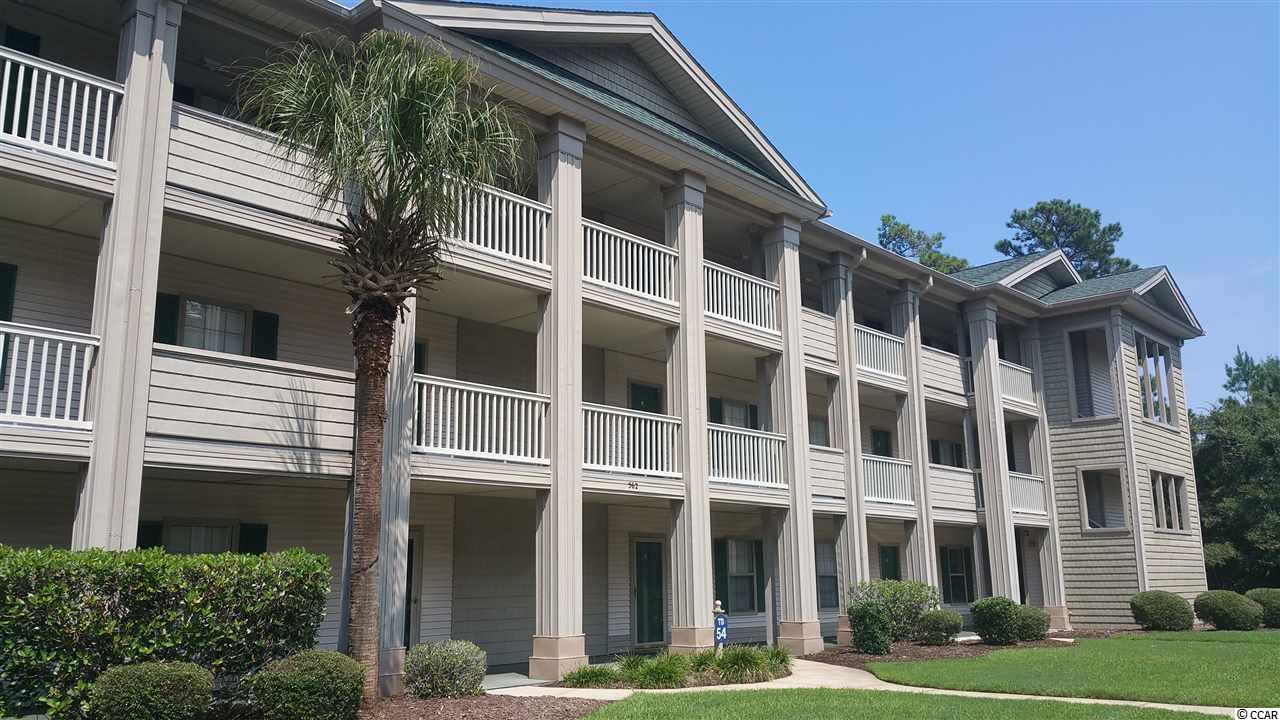 Nice 2nd floor condo in the beautiful True Blue golf course community in Pawleys Island. Very well kept - with wood floors and a screened porch. The Pawleys Island area has eight additional golf courses, fine dining, shopping, public intracoastal waterway access, public beach access (about 3 miles) and more… All measurements and square footage are approximate. Buyer is responsible to verify.