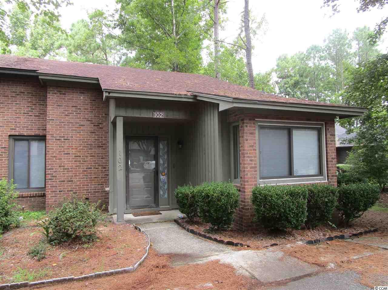 Myrtle Trace 2BR/2BA 1/2 Duplex in 55+ Community. This unique property has Carolina Room, cement patio, Kitchen appliances (new in 2017), laminate floors in major rooms. This is a very active community that offers: clubhouse & outdoor pool. Hospital 1 mile away, fine dining, shows, shopping, golf & most anything else you want or need!