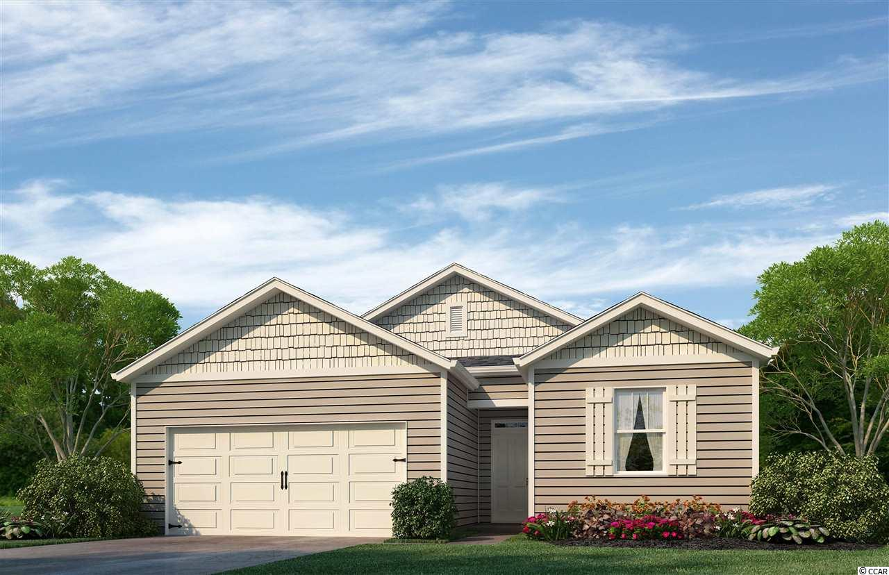 This adorable open-concept 1-level plan will be completed in June 2018! Enjoy a large family room, private owner's suite, and 2-car garage. Kitchen features staggered cabinets, granite counter tops, stainless steel appliances. Be the first to live in Meridian at Market Common. The Meridian will offer 200-300 new homes, featuring 13 floor plans both ranch and two story homes. We are the price-leader for single family homes in Market Common! Our home owners will enjoy a gracious pool, open air amenity center, pickle ball court, walking trails and a short golf cart ride to the beach. Live like you're on vacation! Photos of home are of a model home of same floor plan in another community and are for presentation only.
