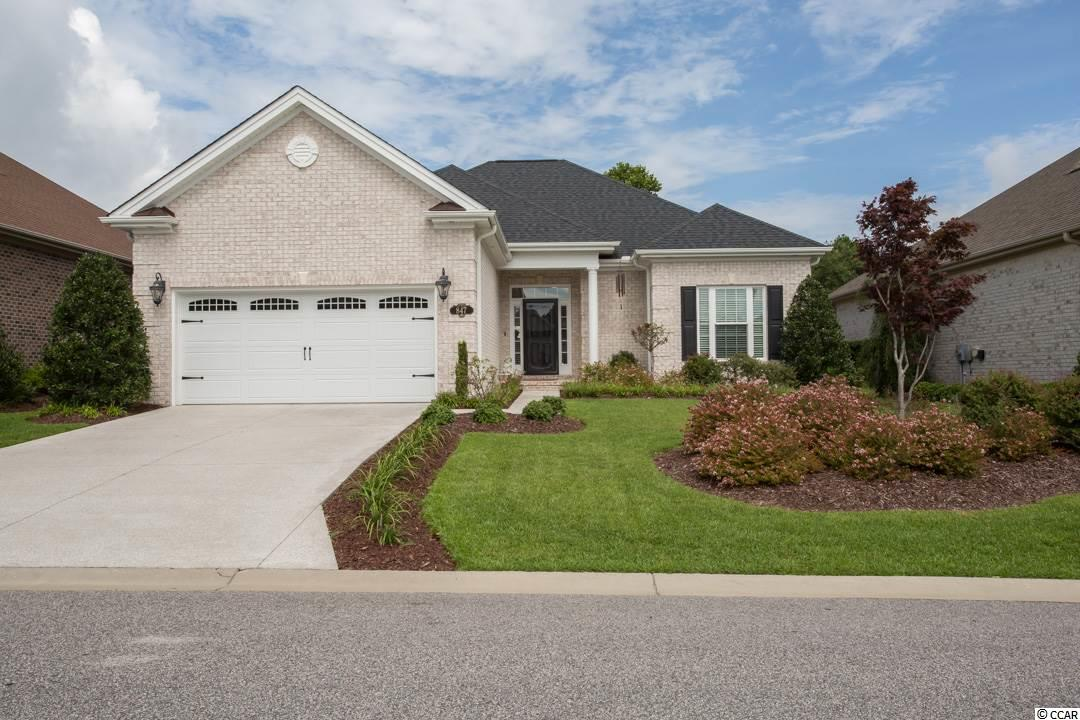 This beautiful, all brick, 3 bedroom, 2 bath home shows like a Model with over 2,200 square feet of luxury. Bright and open floor plan with lots of upgrades including Kenmore Elite stainless appliances, tile floors through out, 4 feet added to garage, owners suite with large walk in closet and custom over-sized shower. Premium lot that is nicely landscaped which creates a very private setting! This property is located in South Carolina's premier coastal community in Myrtle Beach.