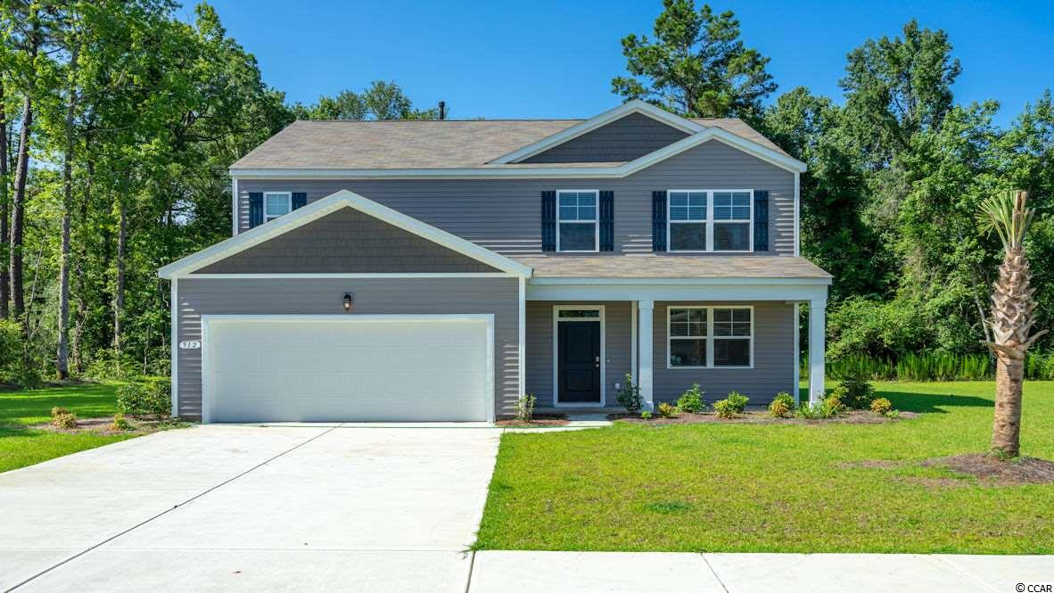 Come see our new community Reflections, in the popular Carolina Forest School District!  The Elle is a great 2-story floor plan that also offers an extra den/office or formal dining room. Downstairs is an oversized flex room that is open into the beautiful kitchen! First floor master suite and large bathroom with ample closet space. Upstairs family/great room.  The laundry is upstairs for convenience and the spare bedrooms are a great size!  The lot is very private and oversized at nearly 1/3 of an acre!  Pictures are for representation only.