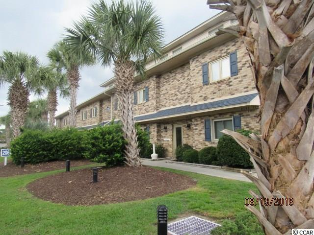 """Well maintained ground floor unit with beautiful view facing a small channel. Living room, kitchen and dinning area, along with a bar for snacking or a quick bite without setting the table. Unit is sold """"unfurnished"""" so it is ready for you. Stainless steel refrigerator and sink, whirlpool washer and dryer stay with the unit, GE Dishwasher, microwave and smooth top range. Easy walk to the Beach, restaurants, etc. Located in the heart of Surfside Beach in the middle of an area which is growing rapidly, and is highly desirable. This should make a great place to live, or be the investment property you may be looking for. Low price on this ground floor unit!"""