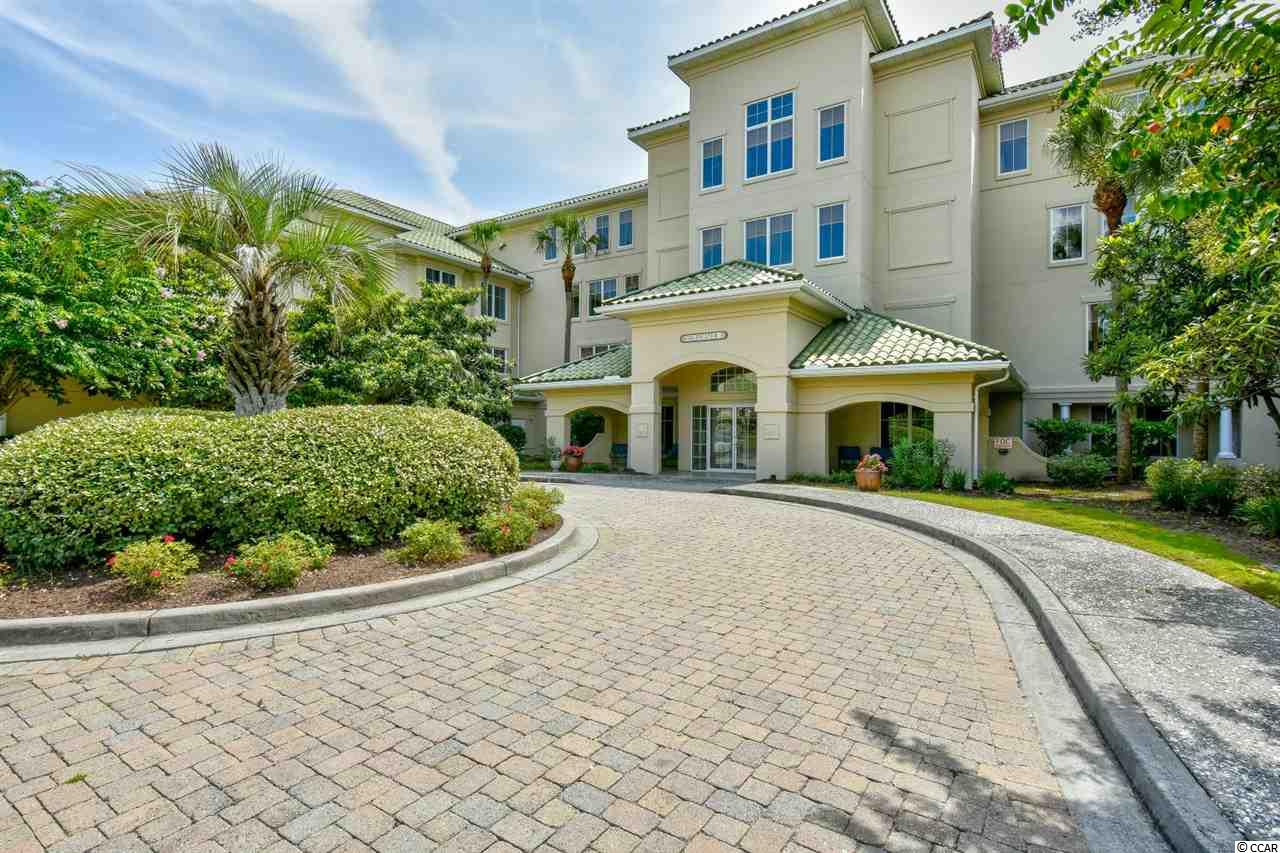 Must see this immaculate 3rd floor End Unit, Furnished Golf Villa w/ Waterway views in the exclusive gated ICW/Golf Course community Edgewater at Barefoot Golf Resort! This bright & airy extra large Tuscany model offers 1,900+ htd sqft, & is the 2nd largest floor plan in Edgewater. Please note that there is a den/office which was done at the time of construction. This unit has been professionally decorated and features beautiful furnishings, detailed ceilings and walls, stainless steel appliances in kitchen, massive closet space, ceramic tile in kitchen, foyer & baths, carpet in the bedrooms, hardwood in formal dining & living area, 2 separate storage units for all of your clothing, beach & golf accessories, parking garage under building and a screened porch w/ amazing views of the Intra-Coastal  Waterway! On top of this fantastic unit, enjoy the security of this gated community along with Edgewater's own social clubhouse, pool, hot tub & fitness center and Barefoot Resort's amenities which are 2nd to none & include 4 championship golf courses with 2 multi-million dollar clubhouses, an awesome driving range with adjacent Bar & Grill, Greg Norman golf academy, a private beach cabana with seasonal shuttle service, a 15,000 sq ft saltwater pool on the Marina, restaurants, walking trails, private pools for each community and so much more! Barefoot Resort is located adjacent to Barefoot Landing and close to the beach & all of the shopping dining, entertainment and all that the beach has to offer! Don't miss ~come live the dream!
