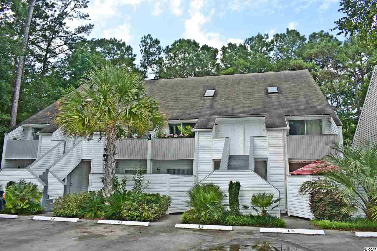 """Perfect 2br/2bth furnished condo and easy golf cart ride to Garden City Beach. This condo has been lovingly taken care of and is far superior to the rest. The sunny sky light will add a """"welcome to the beach"""" feeling. The master bedroom is on the main floor and spacious lofted bedroom has its own full bath. The living room sliders on to an open balcony. Perfect place to enjoy the sun or evening cocktails. The master bedroom has a quiet balcony to enjoy your morning coffee. Fully furnished and equipped, just bring your toothbrush and beach chair. A must see listing."""