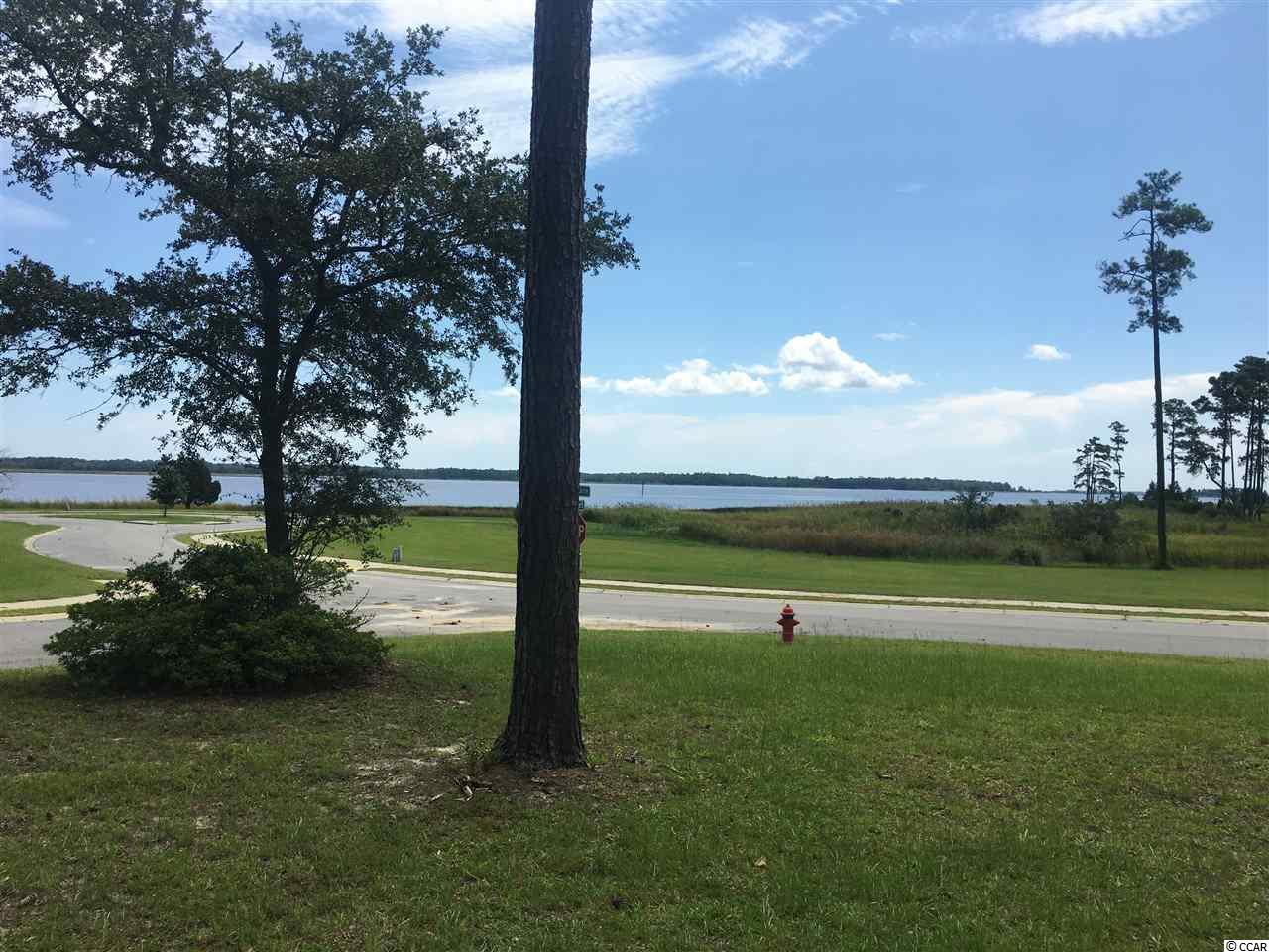 Awesome view of Winyah Bay from this gorgeous high lot on the corner of Seaport Circle and Chaff Court. The view and location are what dreams are made of.  Go and see the perfect site for your dream home.  The current 2500 sq. ft. minimum home requirement is being reviewed for possible reduction. This is a potential short sale and all offers must be approved by bank.  This could take 4 - 12 weeks.  See agent for Short Sale Addendum.