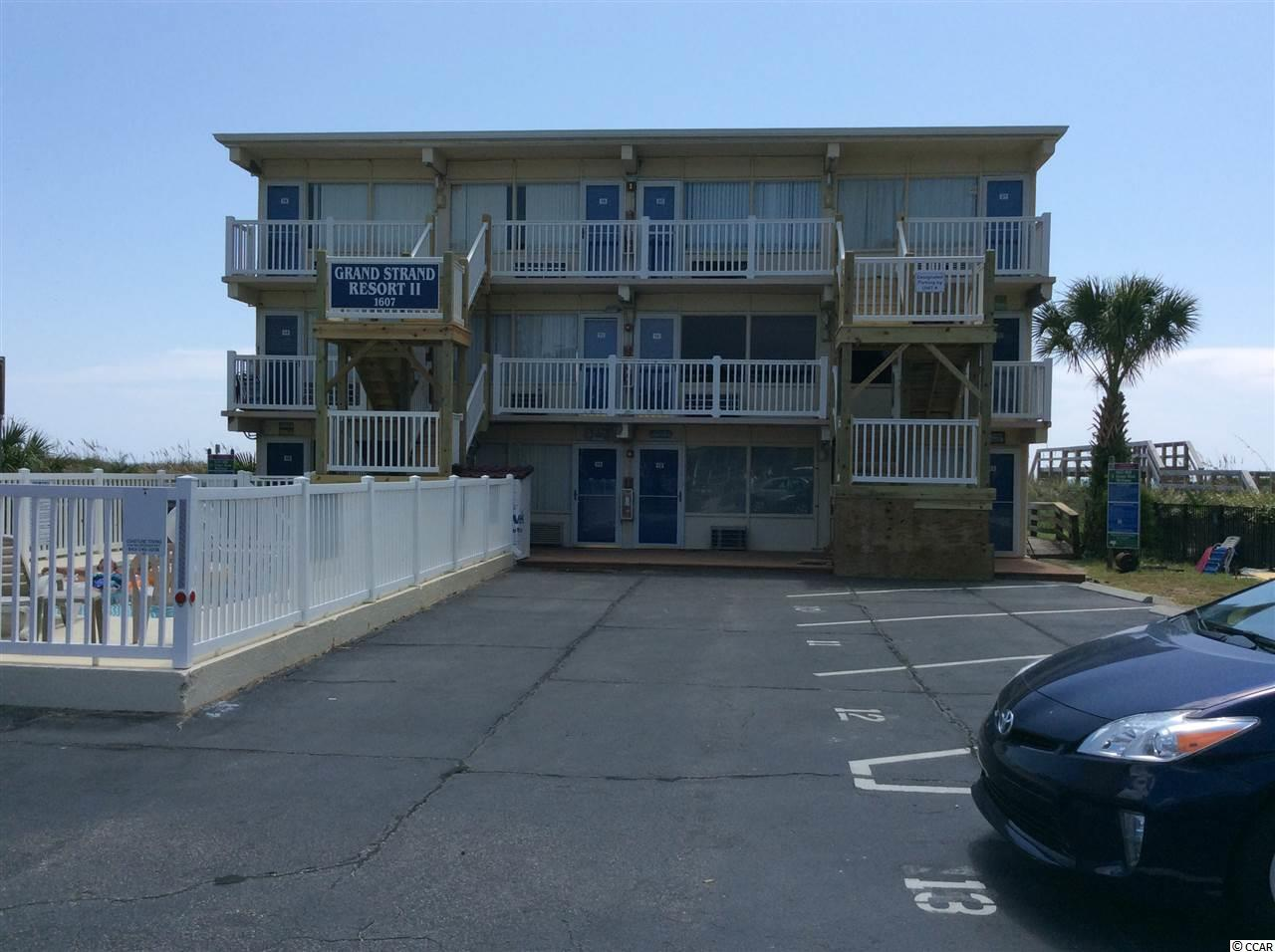 Spectacular Ocean Front View, walk to Mollie Darcy's and more. Close to Barefoot Landing, Great Golf close by. New floor, new paint, New Appliances, low HOA fee for ocean front, insurance included in hoa.