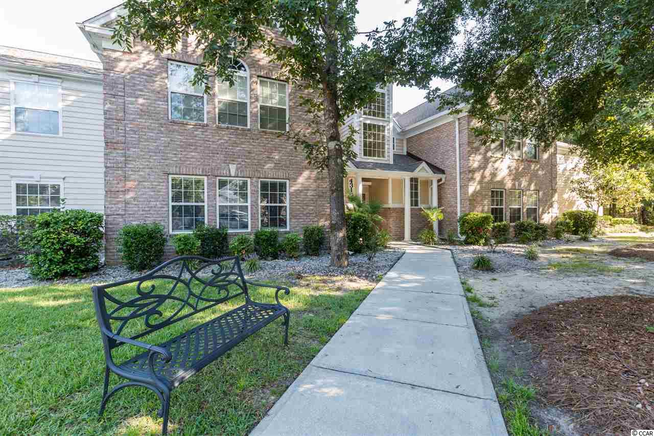 Beautiful condo in Riverwood in Murrells Inlet. 3 bedroom 2 bathroom bright and airy living area offers large windows that allow the natural light to fill the unit. Ceiling fans in the main area along with new paint throughout. The unit offers a large master bedroom with walk in closet, garden tub in bathroom, tons of storage and more! Riverwood features a community patio, grill, outdoor pool, tennis and basketball court, club house and more! Be conveniently located to The Marshwalk, Brookegreen Gardens, shopping, golf, restaurants and all the that Grand Strand has to offer!