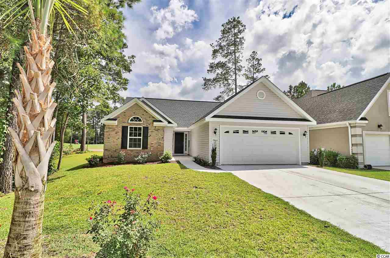 This spacious home is nestled in The Sanctuary at Wild Wing Plantation. Breathtaking view and spacious living areas. Brand new home - only occupied for a couple of months! Beautiful granite counter-tops, stainless steal appliances, and engineered hardwood floors.