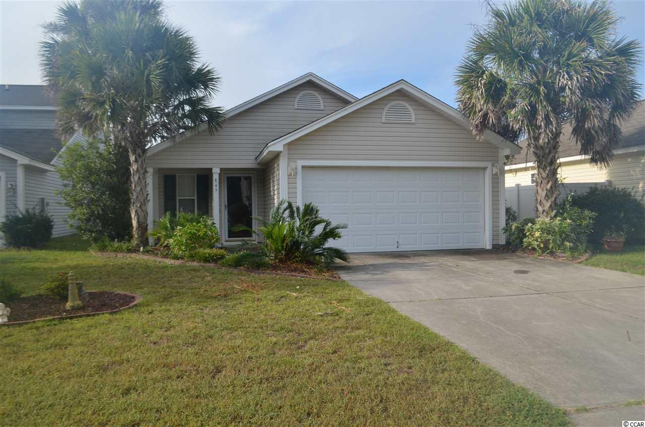Beautiful 3 bedroom, 2 bath home located in the award winning Carolina Forest School district. Upgraded stainless steel appliances, hardwood floors, and updated landscaping! Priced to Sell!