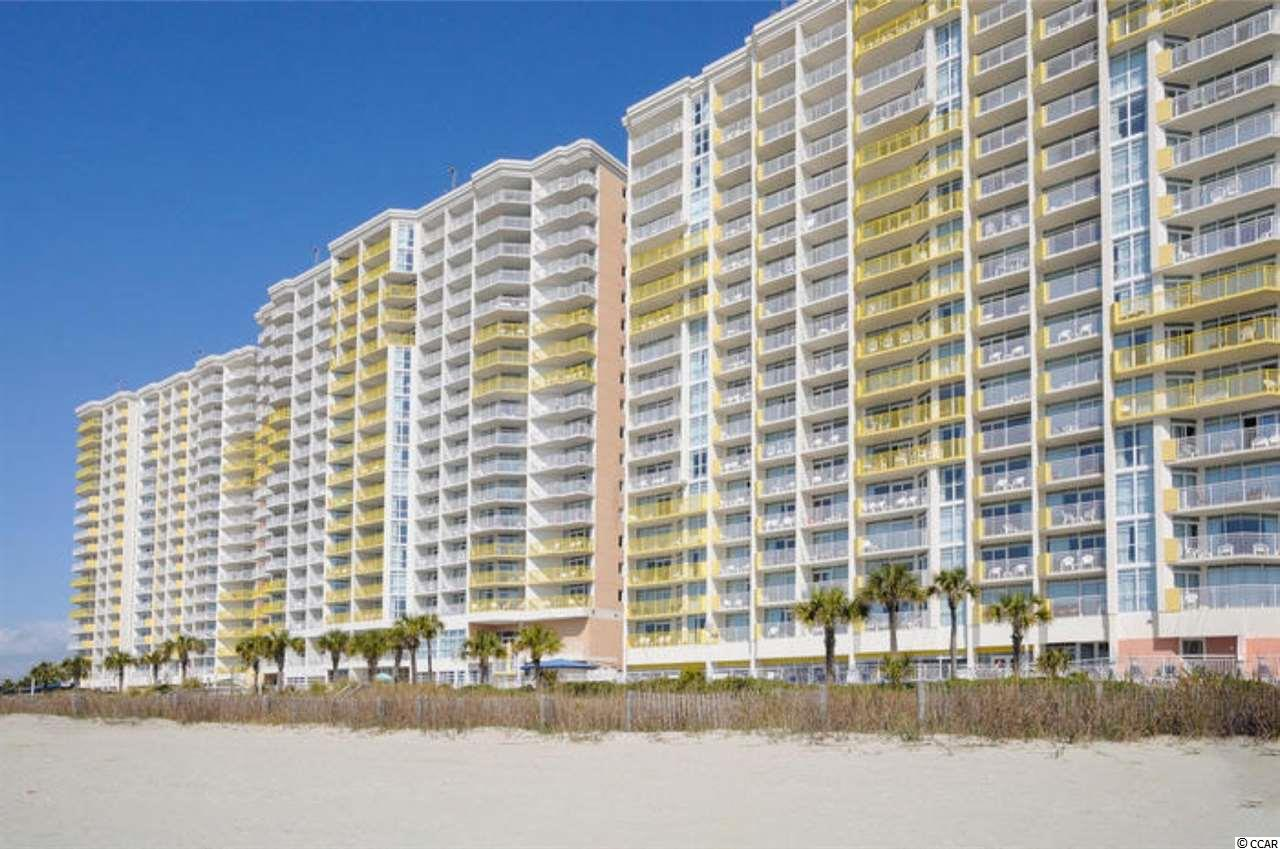 Come check out this great 9th Floor Deluxe 1 Bedroom Oceanfront Condo in the Baywatch Resort located in the Crescent Beach area of North Myrtle Beach! This unit has a new washer/dryer and is a true 1 bedroom floor plan that also includes a murphy bed for extra guests. as well as a new sleeper sofa so this condo easily sleeps 8. This unit has a spacious Living Room, Full Kitchen with new refrigerator, dishwasher and microwave, the bathroom has a Jacuzzi Tub, and there is tile in the Kitchen and Bath! The HVAC was just put in this summer. Drive up to the front steps, be greeted by a bell captain to assist with luggage and valet parking! Their is a concierge service, as well as the convention facilities, a full service restaurant and they are all located in the Central Tower! Baywatch has indoor/outdoor pools, lazy river, Jacuzzis, fitness, convention space, restaurant, sports and a tiki bar - everything needed for a great vacation! HOA fees are very affordable and include electric, cable and internet.