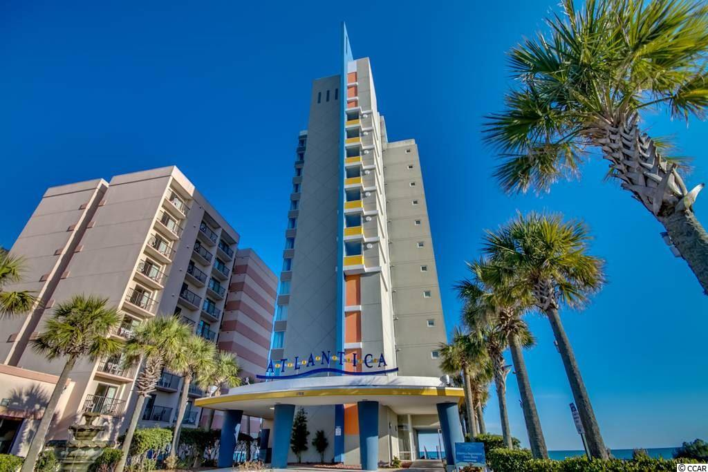 BEAUTIFUL,UPDATED OCEANFRONT PENTHOUSE CONDO ON FLOOR 13 IN ATLANTICA 1. VIEWS FROM THE BALCONY ARE UNMATCHED IN MYRTLE BEACH ! PENTHOUSE CONDO HAS FRONT AND SIDE OCEANFRONT VIEWS FROM THE DEN AND THE MASTER BEDROOM. MASTER BEDROOM HAS A KING BED WITH ATTACHED FULL BATH. BEDROOM 2 HAS 2 DOUBLE BEDS WITH AN ATTACHED FULL BATH. THE DEN HAS A VERY NICE AND COMFORTABLE UNFOLDING COUCH FUTON BED. FLOORING IS TILE AND CARPET. KITCHEN HAS GRANITE COUNTERTOPS. ** HOA INCLUDES ELECTRIC, WATER, CABLE, WIFI AND BUILDING INSURANCE ! ! ATLANTICA 1 HAS A POOL WHILE ATLANTICA 2 HAS INDOOR/OUTDOOR POOLS/HOT TUBS AND LAZY RIVER AVAILABLE TO YOU TO VISIT WITHOUT HAVING TO LIVE WITH THE NOISE AND BUSY ACTIVITY. ** HOA INCLUDES ELECTRIC FOR YOUR UNIT !