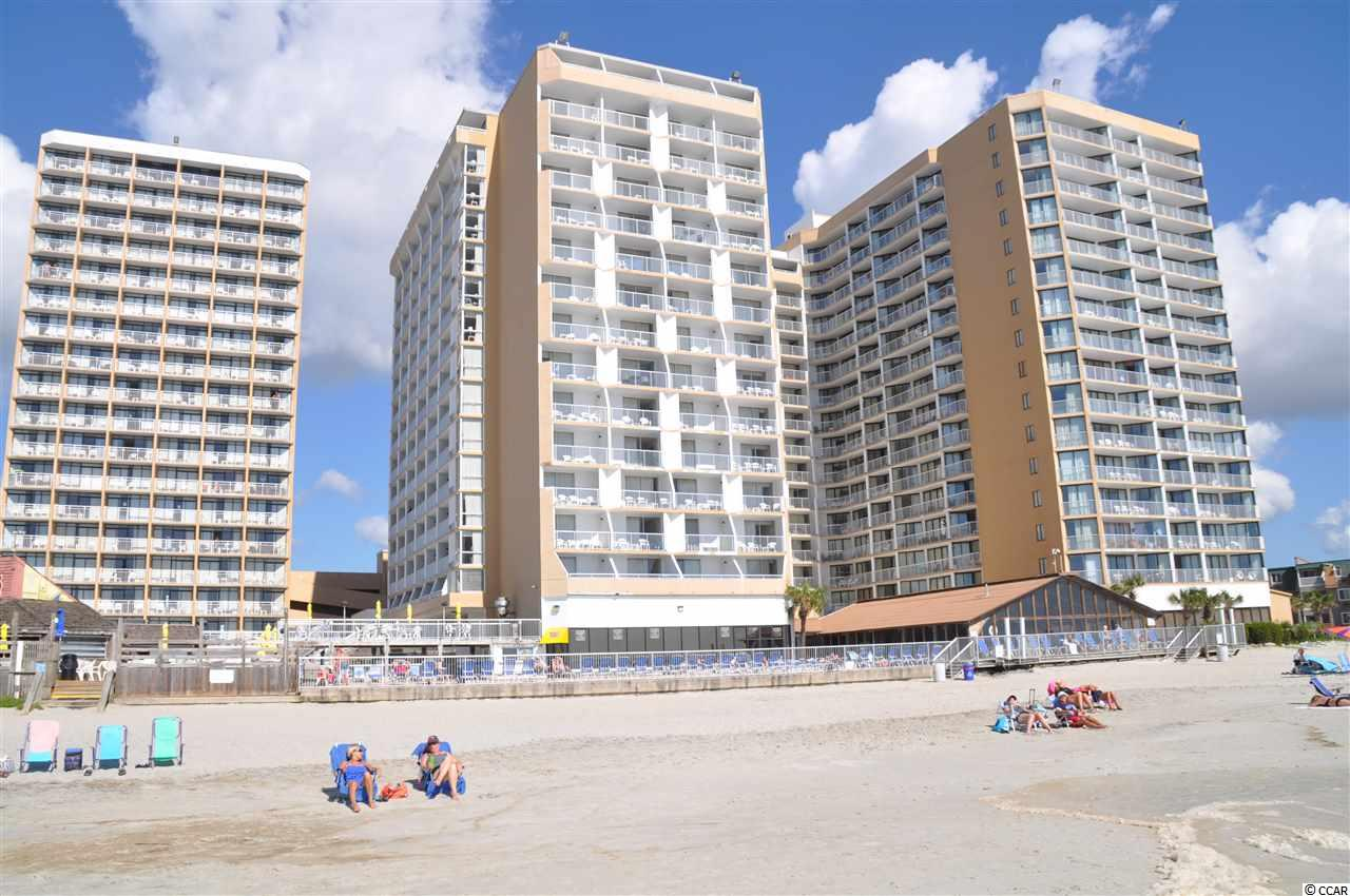 """Perfect beach vacation rental or second home. Sands Ocean Club is where the fun never ends! You are within minutes to restaurants, bars, grocery stores, golf courses, put-put courses, mall and Tanger outlets, theme parks, and many other shopping centers! Sands Ocean Club offers a beautiful ocean front pool deck that features a lazy river, large swimming pool, and an incredible laid back resort atmosphere. In the summertime you will find frozen drinks served at the famous Ocean Annie's oceanfront, poolside cabana bar along with daily bands playing live music. Hungry? They have a River City Cafe on the pool deck offering delicious cheeseburgers and many more tasty items. You will find all you need and more to put """"Sands Ocean Club"""" as one of your favorite places to stay at the beach! This is a true resort with conference rooms, convenient store, day spa, gift shop, golf pro shop, Sandals Lounge, restaurants, bars, indoor and outdoor pools, hot tubs, fitness gym, security, and private parking garages."""