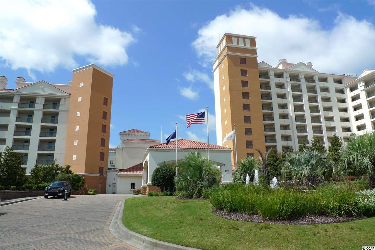 Must See The Spectacular Views and Sunsets From This Beautifully Maintained Unit in the Only AAA 4 Diamond Resort in Myrtle Beach. NEW HVAC 2016 and WATER HEATER 2017. HAS 2 BALCONIES-One off Living Room and One off the Master. This is the Antidote For The Noisy, Chaotic Big Box Hotels- Quiet, Elegant, Close To Your Private Beach Access(Drive or Take Shuttle). Amenities Include Indoor and Outdoor Pools, Whirlpools, Workout Facility, Business Center and 24 Hour Room Service and Maintenance available. Complimentary Morning Coffee and Newspaper, Use of Business Center, as well as Linen And Cleaning Service. Complimentary Valet. Master Has King Bed, Second BR has 2 Queens. W/D, Full Kitchen. Granite Throughout. Owners Enjoy Membership To Award Winning Ocean Club.