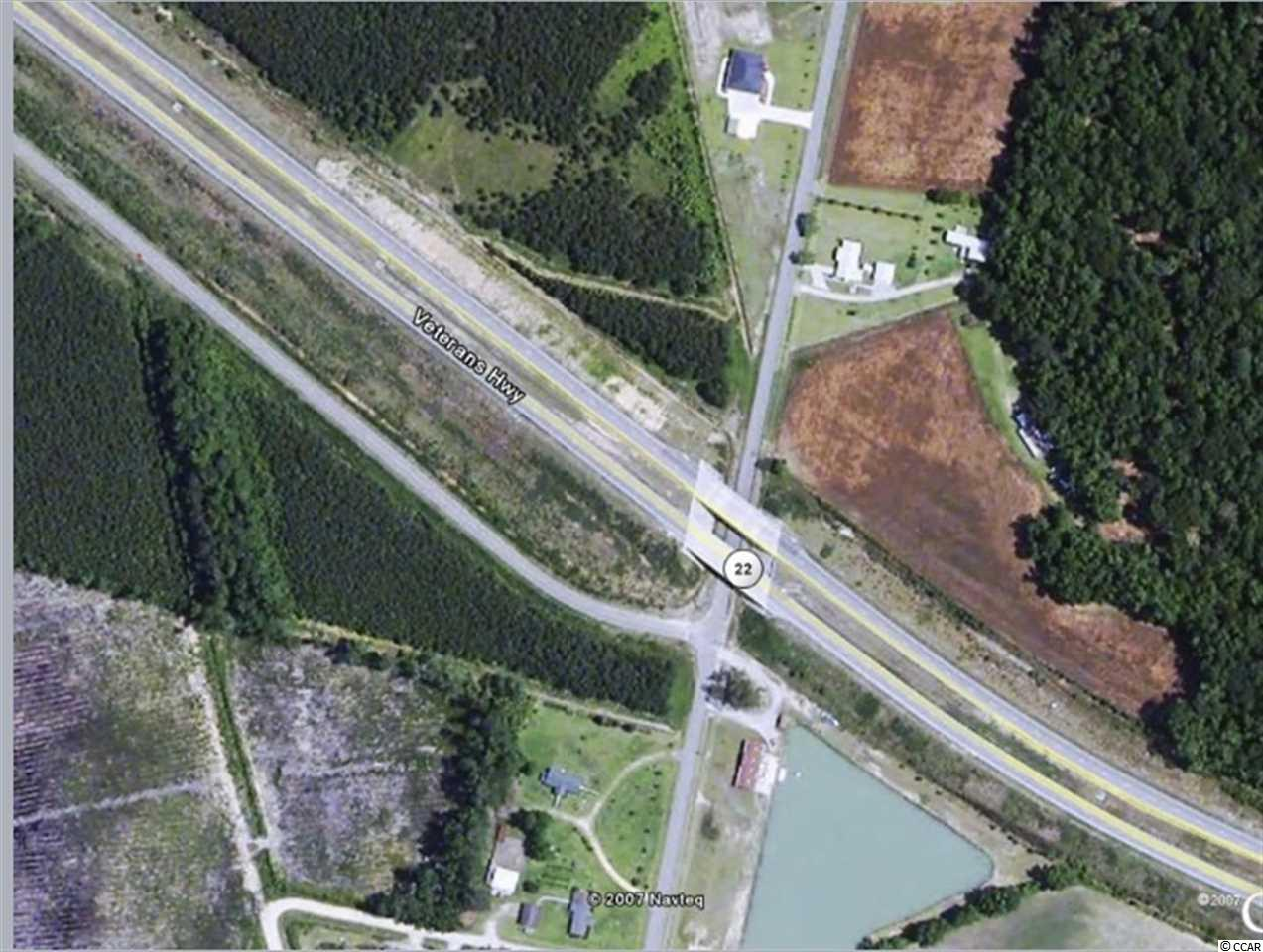 Fantastic opportunity to build to your satisfaction.  Nearly 10 cleared acres of land along Hwy 22.  Extremely convenient location is close to area beaches, shopping, dining and schools.  ***PROPERTY EXPERIENCED ABSOLUTELY NO FLOODING FROM MATTHEW OR FLORENCE***