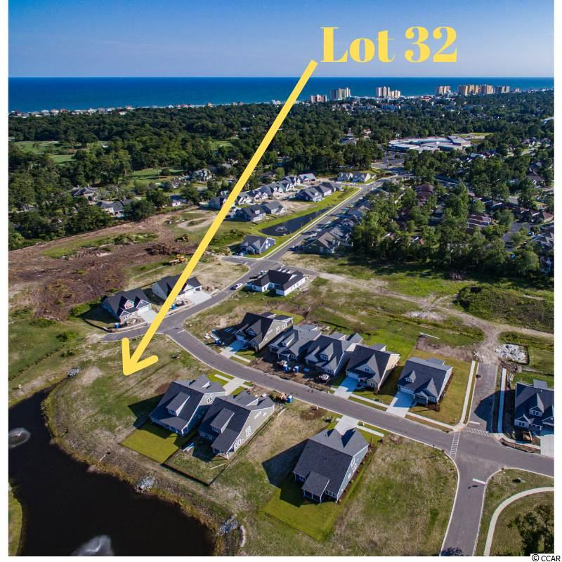 Now is your chance to purchase this gorgeous privately owned CORNER home site overlooking a pond. This home site also has 54 'of common area on one side for add privacy.  Come discover the best new construction community East of Hwy 17 located off 11th Ave N. in North Myrtle Beach. Robber's Roost features beautiful new construction homes with high quality building materials and energy efficient building practices. All homes boast James Hardie ColorPlus siding & trim, natural gas heat, tank less water heater, range, and natural gas log fireplace. This is a the perfect opportunity to purchase your home site and build your dream home in the most convenient location along the Grand Strand. Robber's Roost has direct access to Coastal North Town Center perfect for grocery shopping at Publix, a shopping spree at TJ Maxx, Ulta Beauty, Ross, or Rack Room Shoes, or enjoy a great meal and watch a game at Hickory Tavern. Enjoy all that the North Myrtle Beach area has to offer with direct public beach access with parking less than 1 mile from your doorstep!! Put your car keys on the shelf and hop on your golf cart or bicycle and start living the beach life today!! Call today to start making your beach dreams a reality.