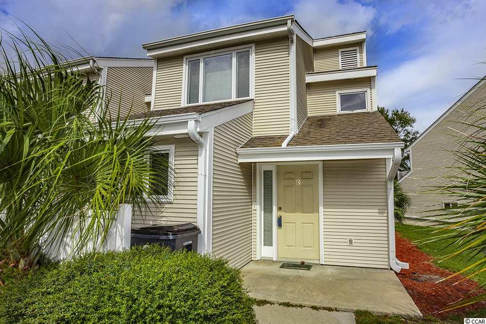 """Why pay rent when you can own your own home? Here is a great opportunity to live in a nice 2 Bedroom, 2.5 Bath condo (which is like a 2-story townhome) in Surfside Beach, """"The Family Beach"""". This home is approx. ¾ th of a mile to the Beach. Great central location and close to all the Grand Strand has to offer: good schools, great championship golf courses, excellent restaurants, entertainment and shopping. Lots of things to do in Surfside and not far from the Marsh Walk, The Market Common and the Myrtle Beach International Airport. Make arrangements to see this property today. Good neighborhood with a nice community pool. This unit could also be used as a 2nd home at the beach or as an investment opportunity. The choice is yours! As a bonus, there is a Hot Tub on the screened in porch which will convey with the sale of the property."""