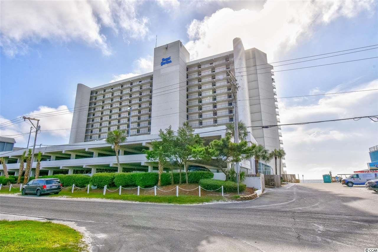 Own a piece of Paradise ~ Must see this larger Oceanfront 1br/2ba 8th floor furnished unit in Royal Garden! This great unit features upgrades including newer paint, carpet, furniture, bathrooms, kitchen island, King bed, bedding & curtains in bedroom, rockers on balcony, has washer/dryer and amazing views of the ocean from the balcony! Come relax and enjoy the sights & sounds with your morning coffee while watching the sunrise or an evening cocktail while watching the sunset over the beautiful Atlantic Ocean from the Oceanfront balcony! On top of this fantastic unit, Royal Garden offers indoor & outdoor pools, hot tub/spa, game room, fitness room, restaurant, conference center, grilling area, sun deck and of course the beautiful Atlantic Ocean w/ 60 miles of white sandy beaches! Whether an investment or your vacation get-a-way, Don't Miss ~ come live the dream!