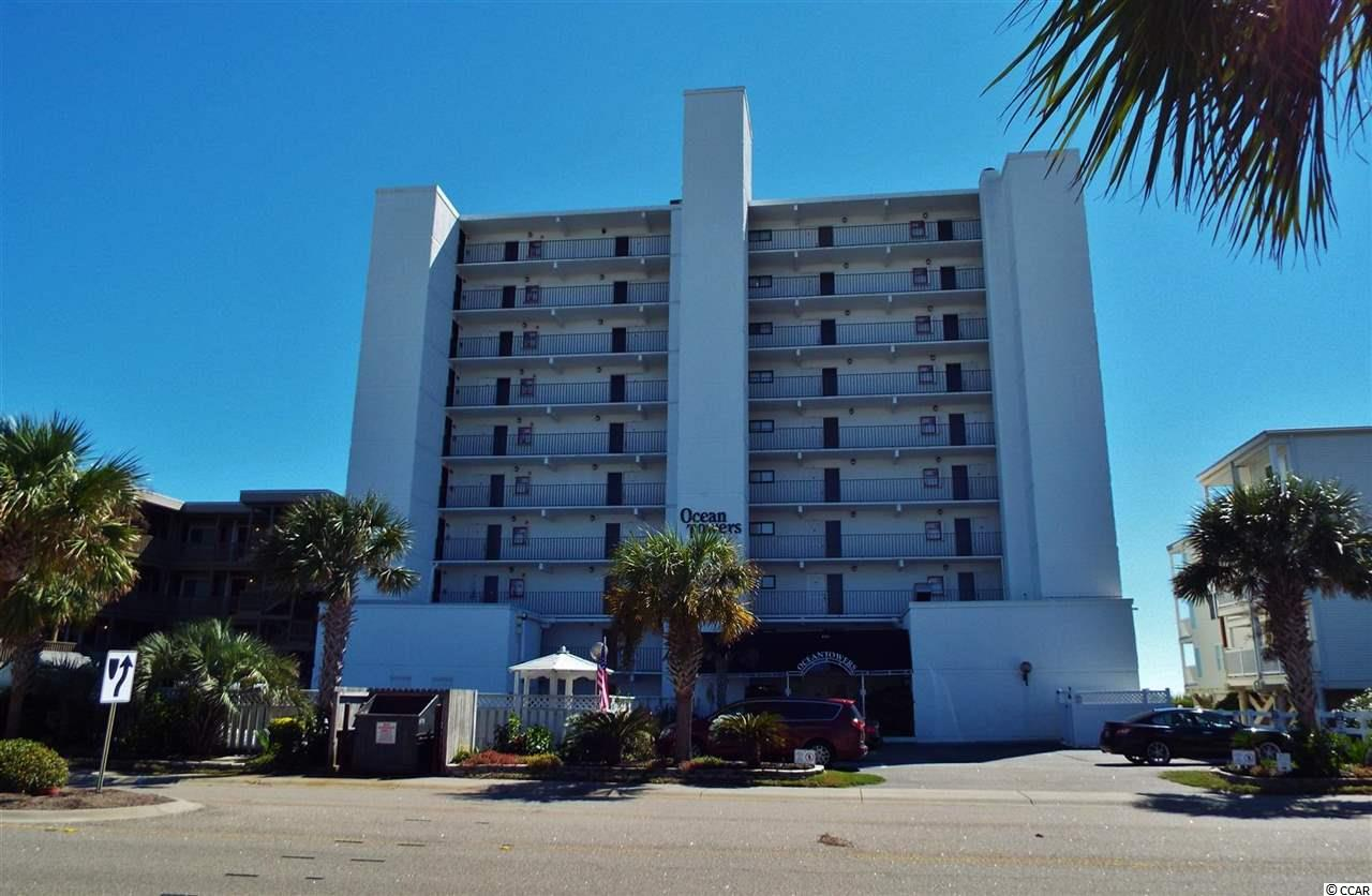 Condo Mls 1820892 Ocean Towers 4311 S Blvd North Myrtle Beach Sc