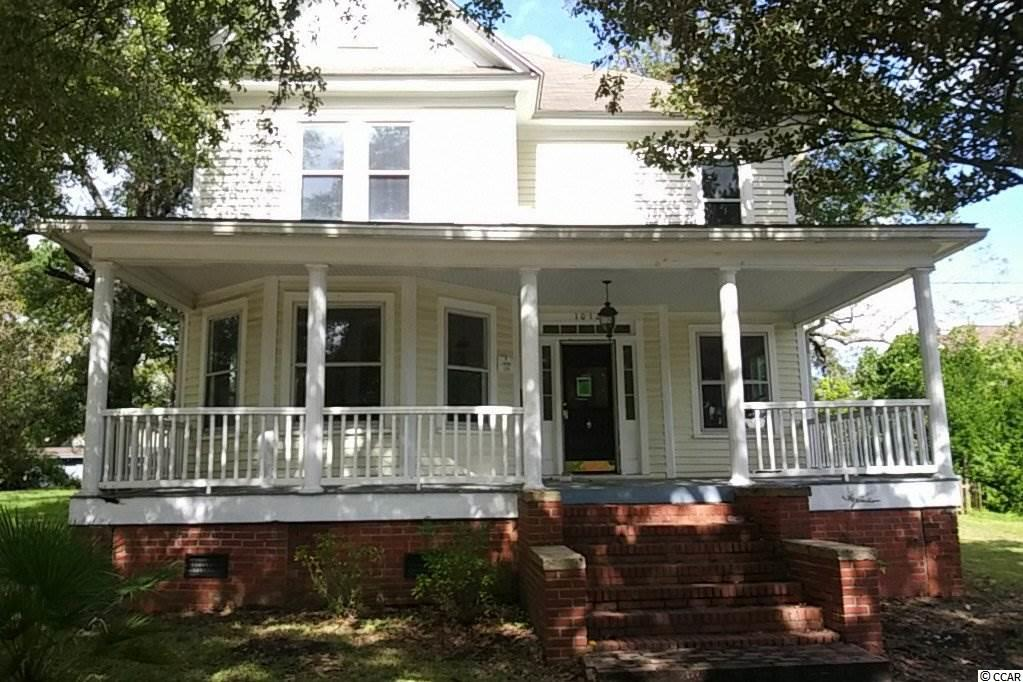 !!REDUCED!! Welcome to your historic Georgetown home circa 1899. This home boasts 4 bedrooms and 2 full bathrooms within walking distance of shopping, dining, and the harborwalk and waterfront. Other features of this home include a fireplace, large front porch, rear storage building, mature landscaping, and a rear mudroom. Two story home on a .19 acre lot. City of Georgetown water and sewer. Perfect primary residence or rental property. Located in the Historic District and subject to ARB :The Architectural Review Board is a seven-member appointed board. This body reviews exterior renovations, new construction, signage and demolition in the City's historic district. No building permit is issued for these activities within the historic district until the ARB issues a Certificate of Appropriateness.