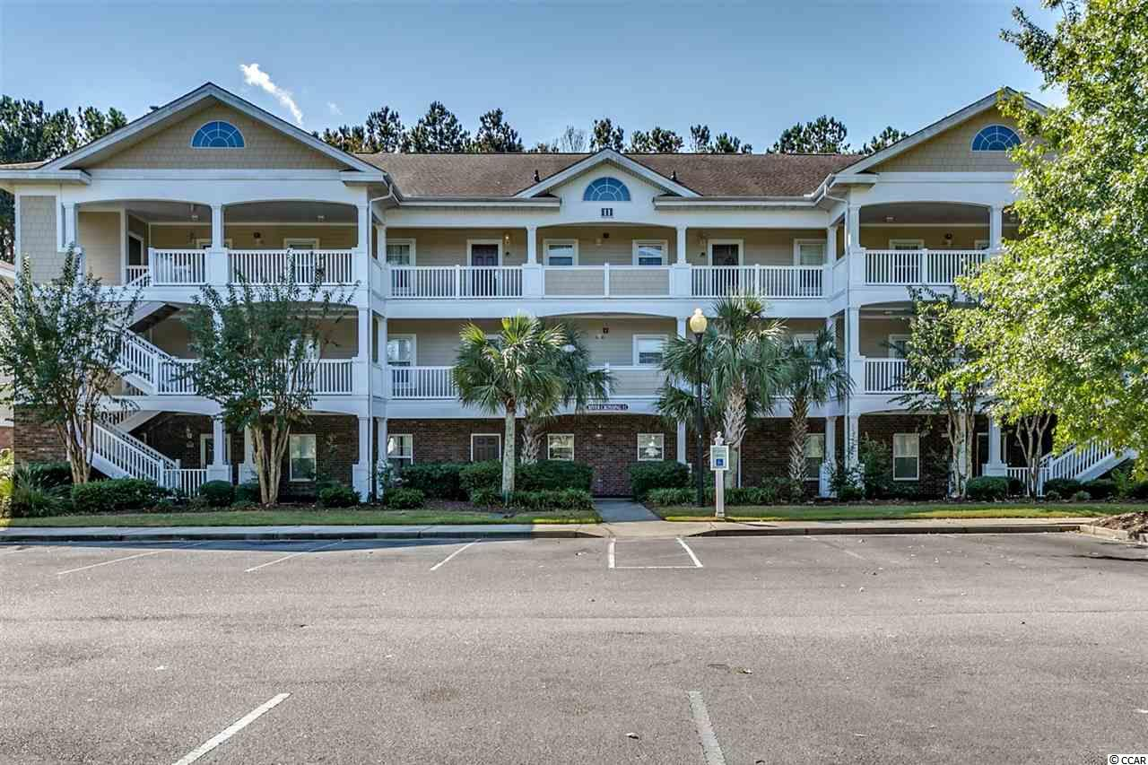 Immaculate 2 bedroom/2 bathroom fully furnished golf villa in River Xing @ Barefoot Golf Resort Community. This golf villa is located on the 3rd floor and features an open floorplan with a full kitchen. The master bedroom is quite large and has a tray ceiling. Enjoy the peace and quiet outdoors on balcony overlooking the golf course. Please note this is not a rental unit and was used as a 2nd home. Right outside the unit is the community pool and community built in barbeques Barefoot Resorts amenities include 4 championship golf courses with a driving range, and 2 clubhouses. There is a 15,000 sq. ft saltwater pool on the Marina and each community has their own private pool. Also, there are extra wide walking/running trails If that was not enough there is a private beach cabana with seasonal shuttle service. Barefoot Resort is located adjacent to Barefoot Landing, is close to the beach and all of the shopping, dining, entertainment, golf, area attractions and all that the Grand Strand has to offer!