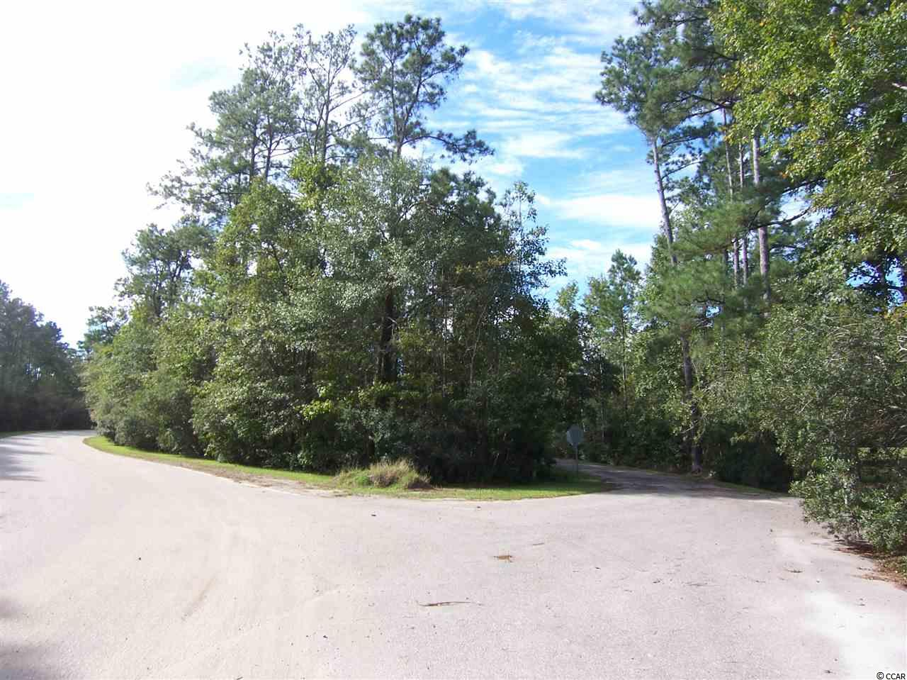 Land for sale in Myrtle Beach/Socastee area. Convenient to Rt 544 and Rt 31. Parcel of 2 lots totaling 1.35 acre, zoned residential. Short drive, about 8 miles to beaches. Make an offer!