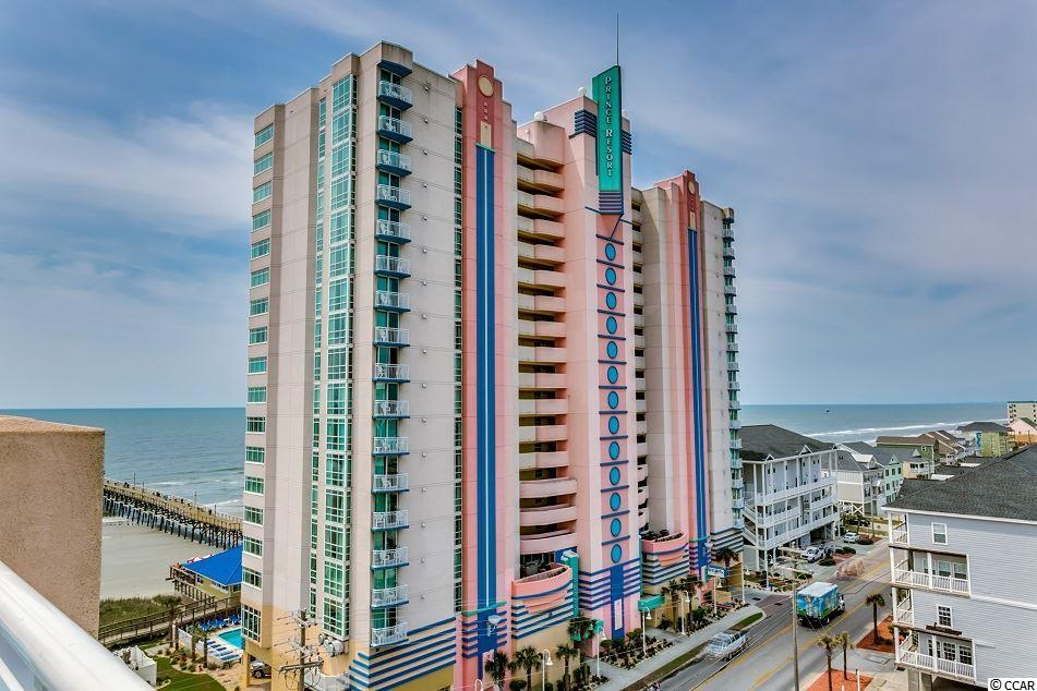 Breathtaking 1 BR / 1 BA end unit at the Prince Resort in Cherry Grove offers magnificent marsh views and views up the coastline into North Carolina. This fully furnished condo is an excellent income producer can be bought with the adjacent 2-bedroom lockout unit. New HVAC! One of the newest oceanfront complexes in North Myrtle Beach, The Prince Resort overlooks the Cherry Grove Pier and is equipped with several pools, hot tubs, lazy river, fitness center, oceanfront dining and more. Call your agent and schedule a showing today!