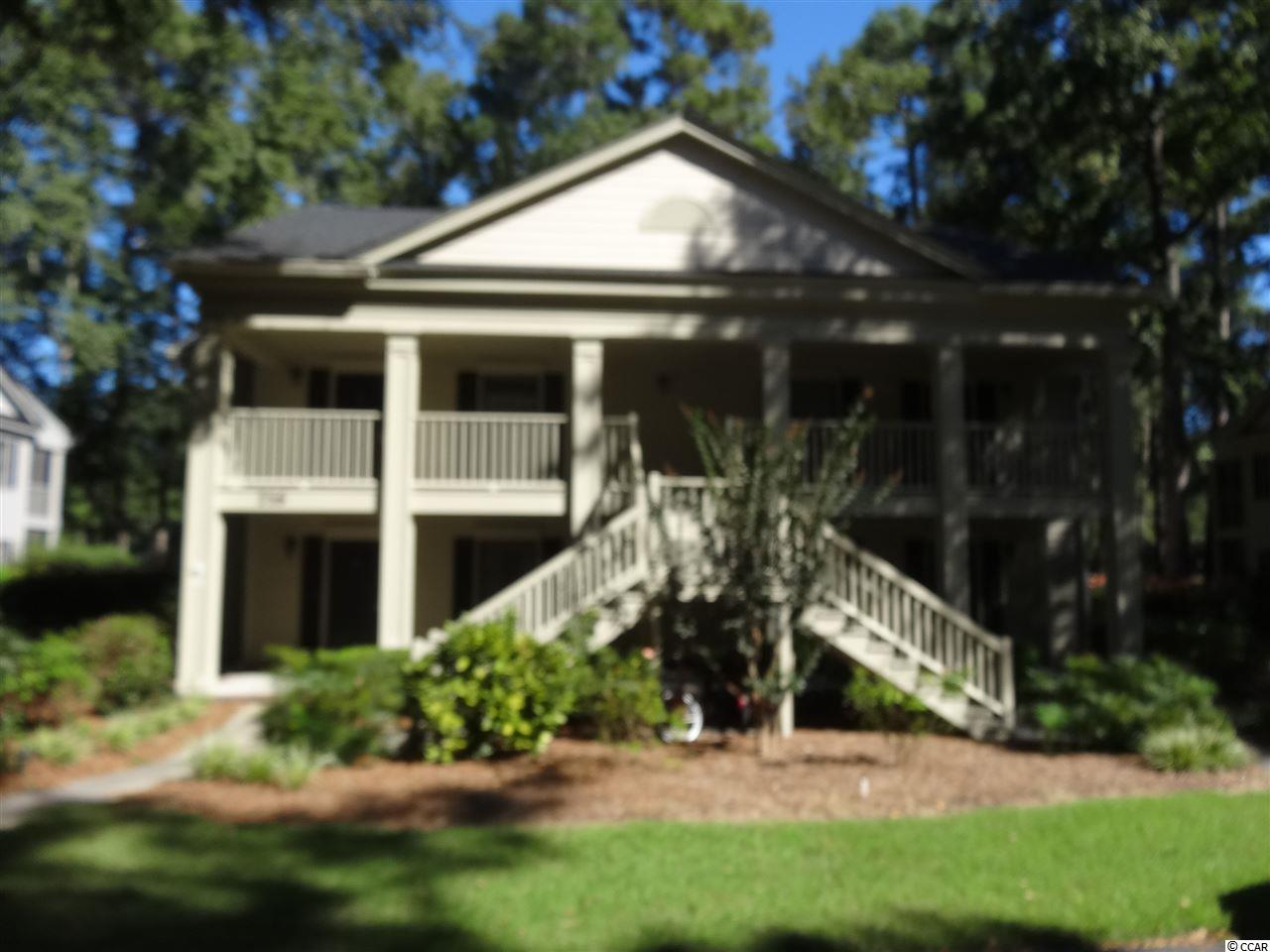 Welcome to 216-1 Stillwood Drive located on the 11th fairway of Pawleys Plantation Golf and Country Club, a Jack Nicklaus Signature Golf Course. Many upgrades to include recent hot water heater, refrigerator, garbage disposal, dishwasher, microwave, washer and dryer. Granite countertops in kitchen, slate floors in kitchen, baths & foyer, and laminate flooring in dining and great room and both bedrooms. Screened porch with ceiling fan overlooking the golf course. Two large bedrooms and two full baths. Never rented, only lightly used for second home. Weehawka Owners Pool a short walk away. Close to Pawleys Island famous beaches,fine and casual dining restaurants, night life, shopping, and other championship golf courses. Golf Course Membership information available upon request. Historic Charleston 65 miles south and Mrytle Beach 35 miles north.