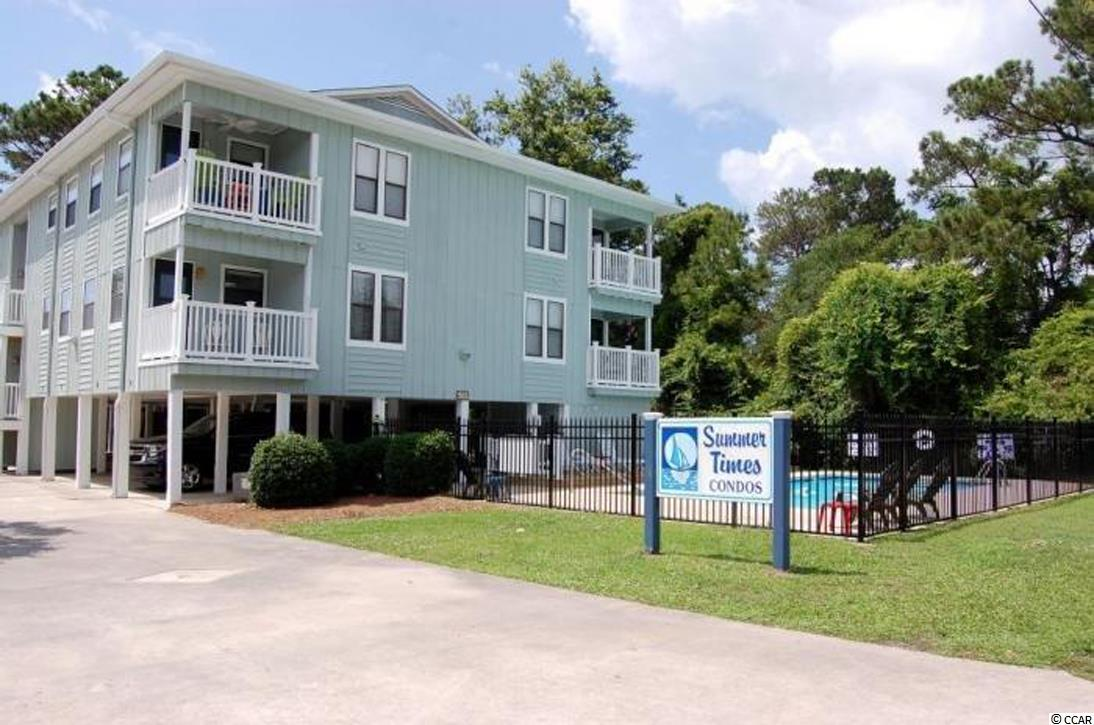 Great condo in the Crescent Beach section of North Myrtle Beach. East of Highway 17 and a short walk to the ocean. Well maintained and sold fully furnished except for a few personal items. Updated kitchen with new cabinets and countertops, stove and refrigerator are only 2 years old, new sink and faucets. New switches and receptacles are GFCI and are child resistant. Washer and dryer 3 years old. HVAC coils have been cleaned and recharged and new disconnect box on outside unit. New Honeywell, programmable thermostat with remote access. Updated bathrooms with new vanities, toilets, mirrors, faucets and showerheads replaced. Updated furniture made by Ashley, mattresses 2 years old. Interior has fresh coat of paint. The exterior has been well maintained as well, freshly painted, new vinyl railings and stairs. Pool grounds updated with a new deck, new fencing around the pool. The smoke detectors go straight to the fire department in each condo. Measurements approximate.