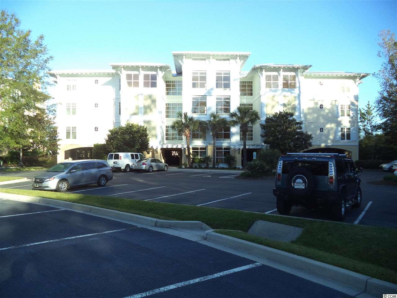 Great third floor 2 bedroom 2 bath unit with fabulous waterway and bridge view. Granite, Tile, Fireplace, Screened-in Porch. Elevator. Under building parking. Close to Grand Strand Hospital, Broadway at the Beach, Shopping, Restaurants, Golf and the ocean is just a golf cart ride away.