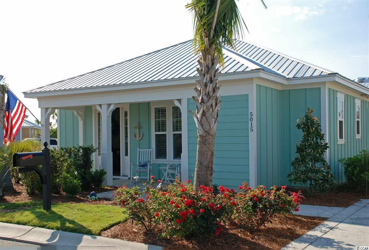 The Retreat Bungalow offers 2 BD/2 Full Bath resort Style living. This home comes furnished. The owner has added many upgrades in this barely two year old home. Plantation shutters, full tiled shower with seat in the master bath, closet organizer in the master bedroom, Granite tops and full tile back splash, soft close cabinets in the kitchen, Murphy bed in the second bedroom making it a multi use space. The Kitchen boast high end Samsung Black Stainless appliance package as well as Stackable LG washer and Dryer in the laundry area. Access to pool area exclusively for the villas and bungalows in addition to Barefoot resorts pool . Newest development in Barefoot Resort . Barefoot amenities including the area's largest saltwater swimming pool, golf, bike trails, and walking paths, golf cart ride to the beach. Barefoot's resort living offers four world class golf courses, two club houses, driving range, marina, on site restaurants. This home has a deeded golf membership that can be transferred for additional fee. Put this outstanding home on your list to view and you will not be disappointed.