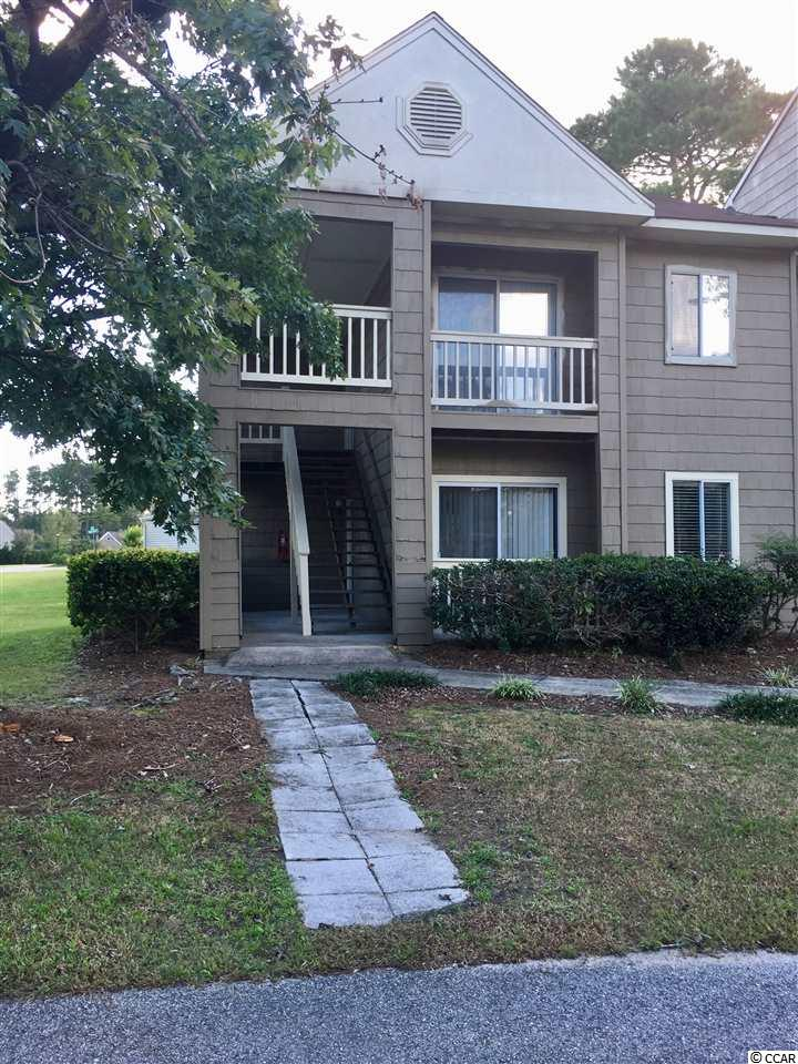 Beautiful mature landscaping, well maintained property, centrally located, first floor end unit. Fresh paint, stainless appliances, tile back splash, vinyl and laminate flooring throughout. Washer and Dryer included! Covered patio with storage, view of pond and green space. Pool and Tennis Court. Close to everything, including Conway Medical Center, HGTC, CCU, Restaurants, Shopping and 15 minutes to Myrtle Beach.
