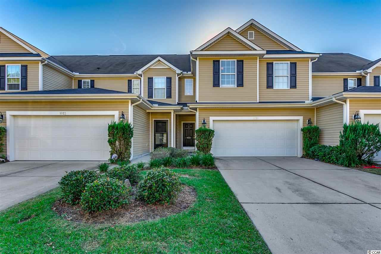 Incredible investment property located in the beautiful golf course community of Fairways at Wild Wing! This stunning 3 bedroom, 2.5 bathroom unit offers an incredibly spacious layout complimented by a sweeping vaulted ceiling. The first level boasts an open living/dining area, half bath and well-appointed kitchen, which offers an island, breakfast bar, pantry and ample cabinet space. Second level encompasses the Master bedroom and en suite as well as two additional spacious bedrooms and a second full bathroom. Featuring an attached private 2-car garage, the unit provides a safe alternative to on-campus living. Wild Wing is located just off of Hwy 501, close to shopping, dining, entertainment, a quick drive to the beach, and conveniently located just minutes away from both Coastal Carolina University and Horry-Georgetown Technical College. This townhome is a great investment property, primary residence, or secondary residence!