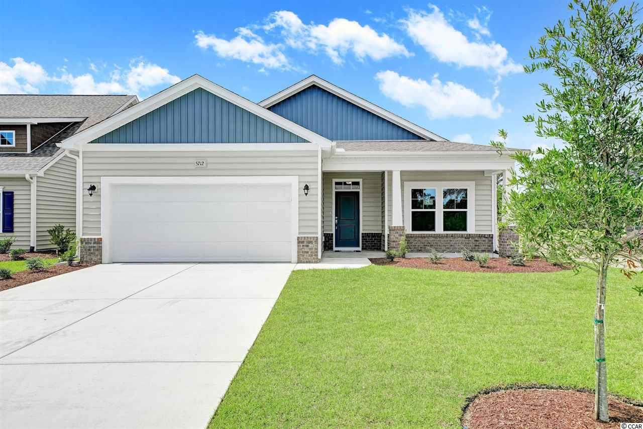**HUGE PRICE REDUCTION** PLUS CRAZY 8 INCENTIVE FOR LIMITED NUMBER OF INVENTORY CONTRACTS ACT FAST!  ASK AGENT FOR DETAILS!  This Brand New Aurora Inventory Home  is Ready Now.  This Aurora has beautiful finishes & a Tranquil Water View!  It offers just the right amount of living space to have freedom at the beach!  Modern Open & Spacious Home plan.  Kitchen has large island over looking Family room with room for seating. Casual Dining area has just the right amount of space.  You will love the grand entrance leading in.   This home will have beautiful quartz kitchen counters with a white cream finish & grey streak accent, Staggered height Kitchen Cabinets with Crown in Ivory & pewter island cabinet color, Stainless Steel Appliances,  Brushed nickel lighting package, Ceiling fans in great room and master, Raised Height Bathroom Vanities, Tile Walk-in Master Shower, Ceramic tile flooring in Laundry & baths.  It will also have Laminate flooring throughout common areas in Foyer, Kitchen/Dining & Family Room.  Crown molding & 2-piece Chair rail molding in foyer, 9' smooth ceilings on first floor, Molding package, garage door opener, 2x6 Exterior Walls, Beaded Vinyl Exterior, Trane 16 Seer High Efficiency HVAC, Gutters around entire home, 2 rear flood lights, fully landscaped yard with sod and irrigation system, and the list goes on! As a Brookberry resident you have full access to The Farms 2 resort-style pools, clubhouse, fitness center, basketball court, and a playground. All this plus access to the Atlantica beach club.