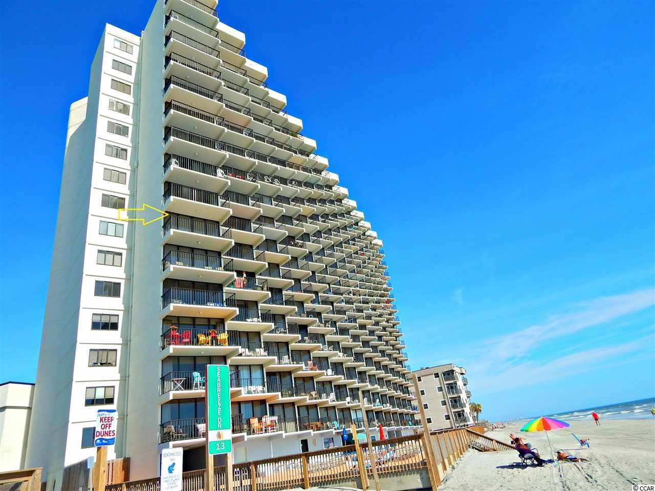 Come see this 2br/2.5 bath 7th floor corner unit condo with beautiful northern and southern coastline views. This building is concrete and steel construction and has been kept in very good condition. Complex has both indoor and outdoor pool and spa. Schedule your appointment today!