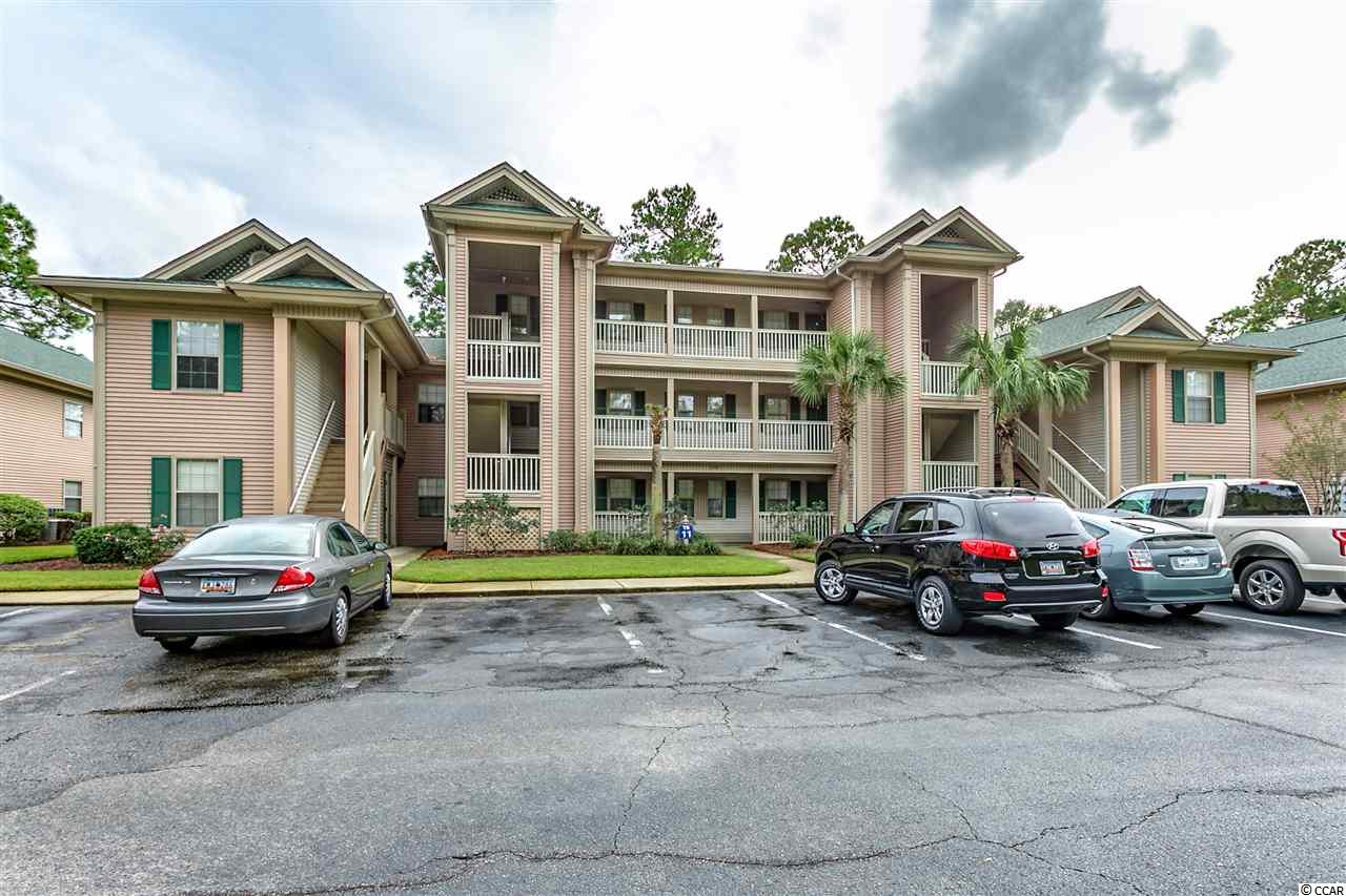 Spacious 2 bedroom, 2 bath condo with newly painted interior. Condo being sold furnished. True Blue Community. Minutes from the beach, river, restaurants, and shopping. Approximately 30 miles to Myrtle Beach airport and about 60 miles to historic Charleston. Great convenient location with ammenites including pools and tennis courts, golf club house with restaurant and pro shop, and The Steve Dresser Golf Academy. Short term and long term rentals allowed. Large screened-in porch with a view of the golf course.