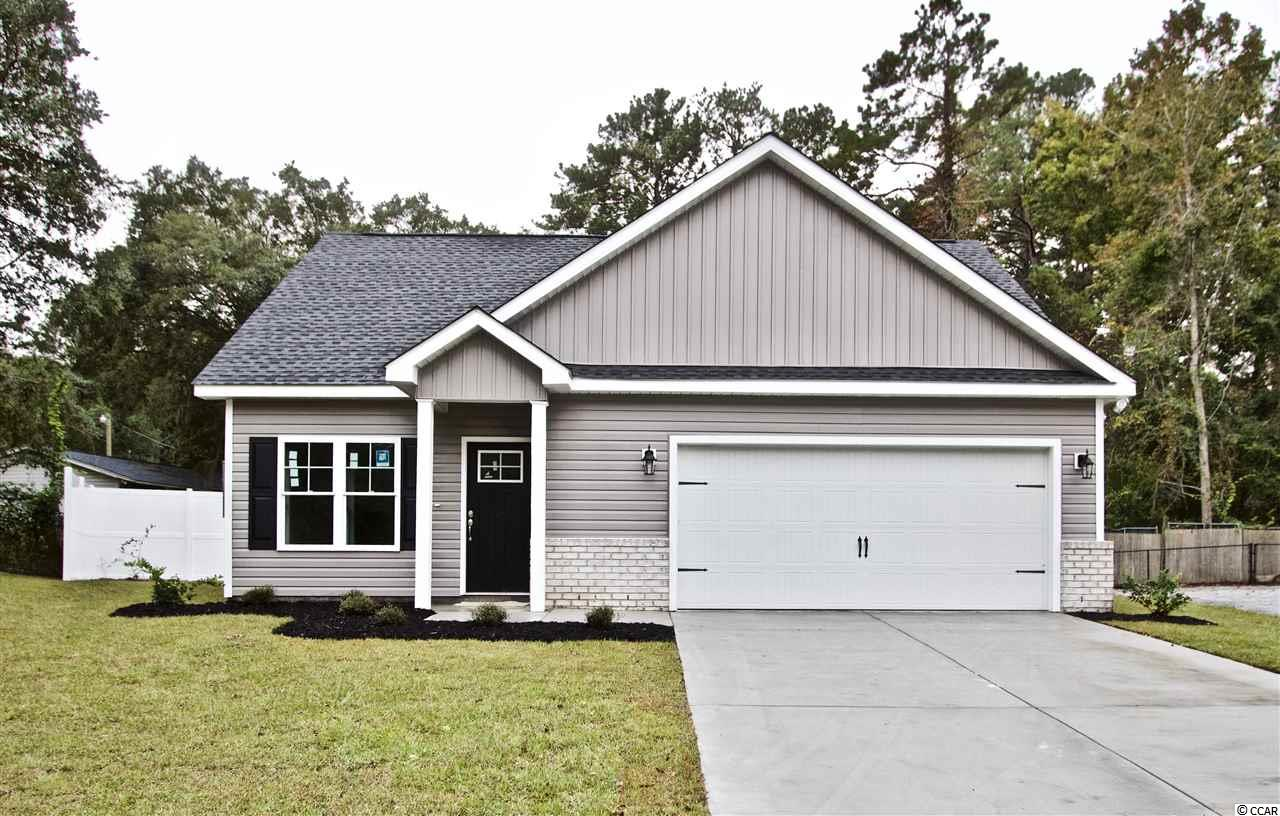 Brand New Construction home, East of 17. This home has upgrades and many features. Golf Cart ride to the beach. Granite Counter Tops. 2 Car Garage. And best of all no HOA. Walking distance to Lowes Food and Food Lion, as well as many shops and restaurants. Come see what affordable beach life looks like.