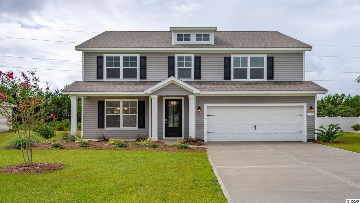 """Inlet Reserve is the place you want to call home! This is a natural gas community featuring 69 spacious homesites with private and pond views, conveniently tucked away in the heart of Murrells Inlet , yet just a short drive to championship golf courses, marinas, shopping, hospitals, beaches and the Marsh Walk where you'll find year round entertainment and award winning restaurants with spectacular views of the salt marsh and wild life.  If you are looking to downsize, upsize, or to add a pool and create your own outdoor living space, Inlet Reserve has the homesite and home for you.  We offer a mix of 1 story and 2 story thoughtfully designed open living floor plans, perfect for entertaining family and friends. The Tillman C is a Beautiful 2 story home with 5 bedrooms, 3.5 bathrooms, crown molding, tray ceiling, 5 1/4"""" baseboard and trimmed out windows, 8ft. entry door and huge loft. This home offers a formal dining room that flows through to a spacious kitchen with 36"""" staggered height cabinets , granite countertops which includes a large gourmet island overlooking the family room, pantry, glass tile back splash, pendant lights and stainless steel appliances. 1st level features a an open floor plan with wood look tile floors throughout the main living area 1/2 bath and Huge owners suite. Owners suite and bath offers a walk-in closet, 5 ft. walk-in tile shower and a garden tub, double vanities and bowls. Oak treads and painted risers take you to the 2nd level family room, 4 large bedrooms, 2 additional baths and laundry room. Tasteful interior touches run throughout the house to finish off this must see home. New Community in popular St. James school district. Pictures are of a previous built home and are for representation purposes only.  Call and schedule your appointment today!"""
