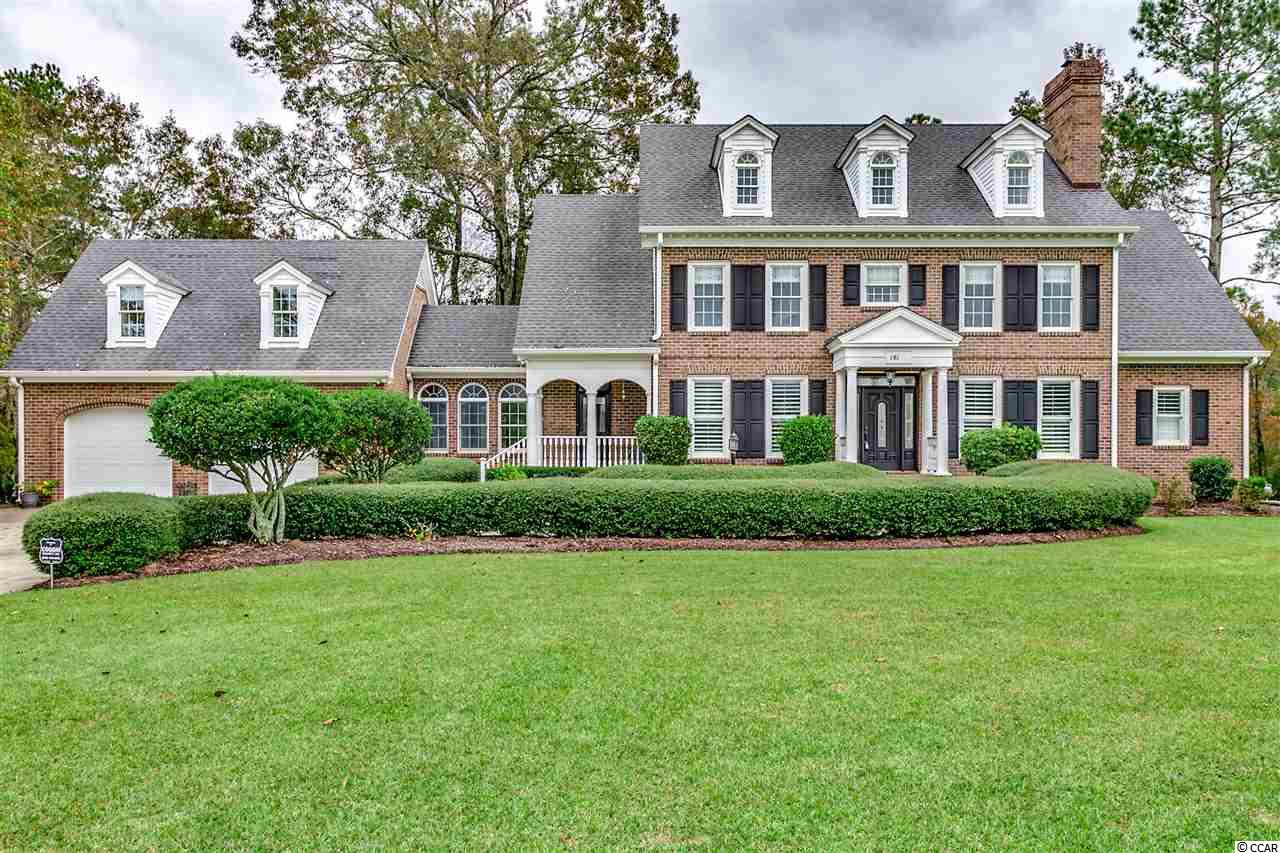 Waterfront living at it's finest!  Enjoy this sprawling 4 bedroom / 3 full and 2 half bath custom all brick executive home that overlooks the Waccamaw River from the highest bluff!  This home welcomes you with incredible curb appeal, grand foyer with formal dining and living room.  As you enter the two-story family room, the brick fireplace and natural light surrounds you!  The upgraded kitchen with white cabinets, stainless steel appliances, granite countertops, tile back splash and large eat in nook area are another desirable feature.  The master suite on the main level is oversized and upgraded with granite countertops and tile shower.  The secondary bedrooms, ample storage, new roof, man cave and large garage make this home a 'must see'!  NO HOA Fees! The large deck and screened porch area is where you will spend most of your time as you over look the River.  Must view to appreciate!  Great location only 10 minutes from Conway, 15 minutes to Tanger Outlet, 20 minutes from North Myrtle Beach and Myrtle Beach.  Property is located on a high bluff and will not flood! Don't Delay!