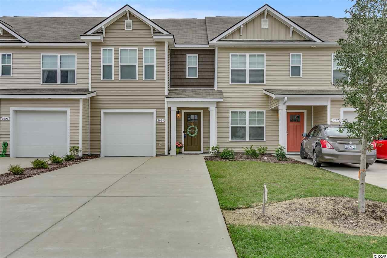 Like new and shows like a model home. Laminate flooring downstairs with an open floor plan. Half bath and storage under the stairs. Kitchen with granite countertops, tile backsplash and new knobs on the cabinets. Formal dining area and a breakfast bar. Master bedroom has a cathedral ceiling and walk in closet. Master bath has double sinks, linen closet and a storage closet. Private garage with garage opener. Location is very convenient.