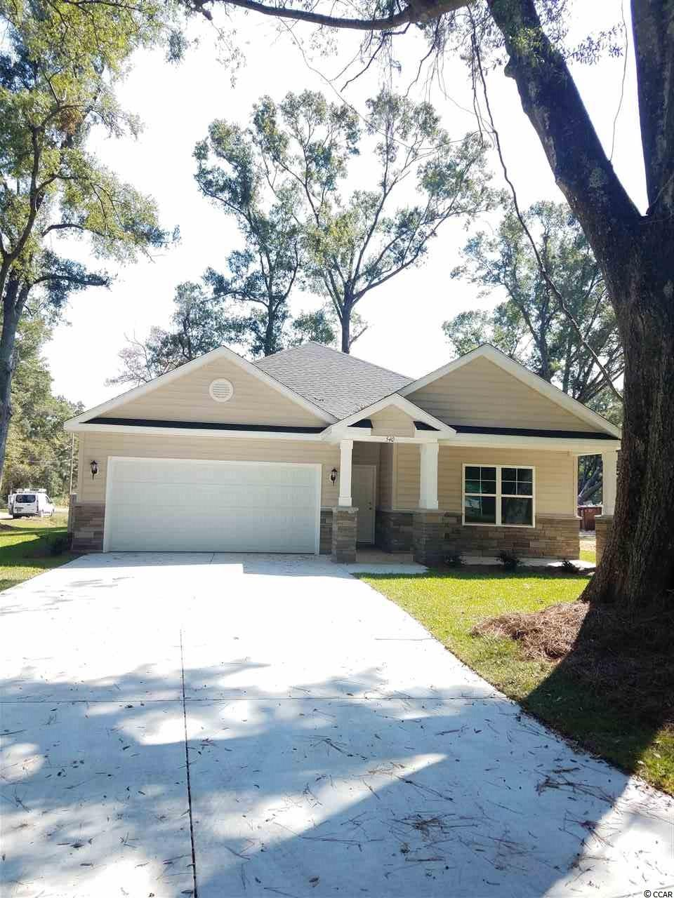 Where else can you find a new 4 bedroom home with granite, stainless steel, upgraded cabinets, tile, and hardwood , Pawleys Village II. Agent On Duty Mon,Thursday-Sunday , Tuesday and Wednesday by appointment
