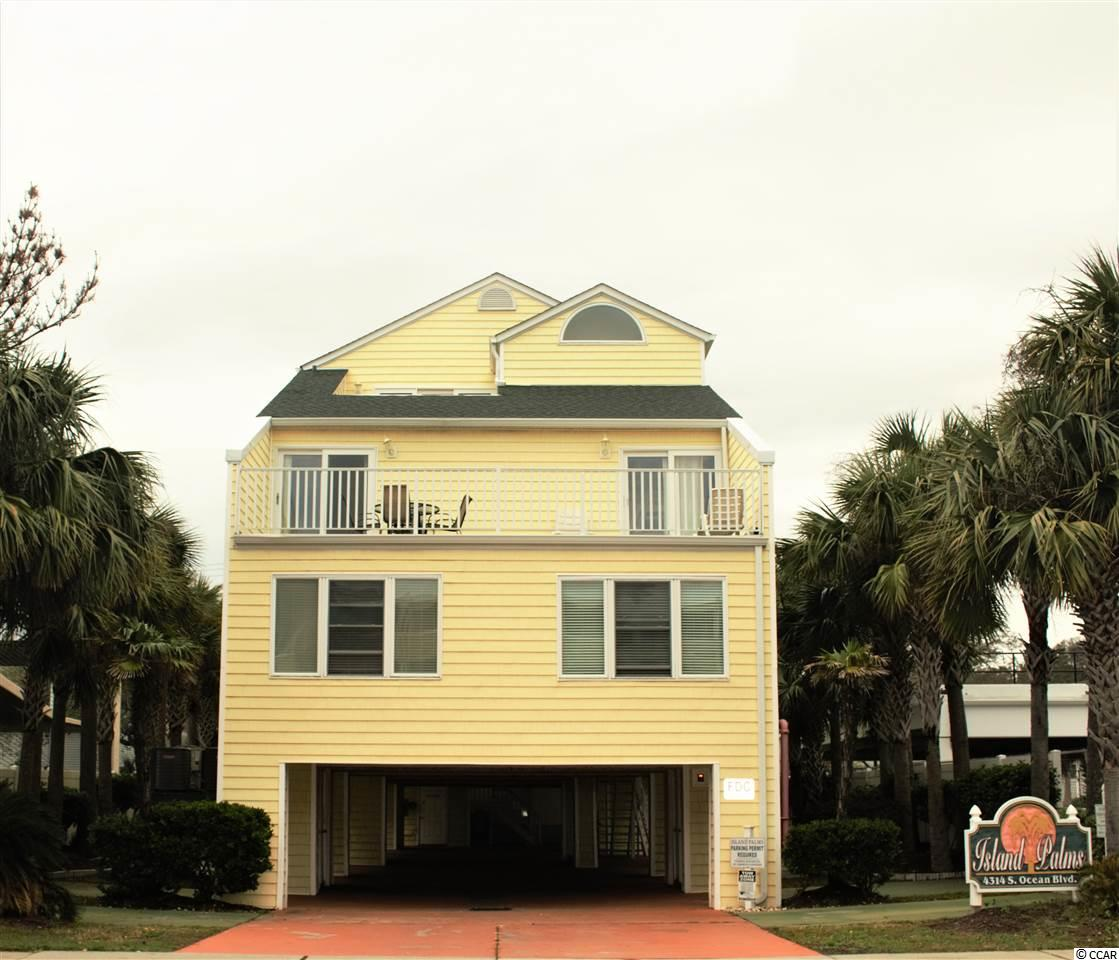 Come fall in love with A1 in Island Palms! Located in the Windy Hill section of North Myrtle Beach, this two bedroom/two bath condo is one of only seven units and it is across the street from the beach! It is located on the first floor in the front of the building, comes completely furnished, has granite counter tops, stainless steel appliances, upgraded carpet, and lots of sunlight. There is a storage closet underneath and a small pool for a quick dip after soaking in the sun. Hurry and be on top of vacationing at the beach for the 2019 season.