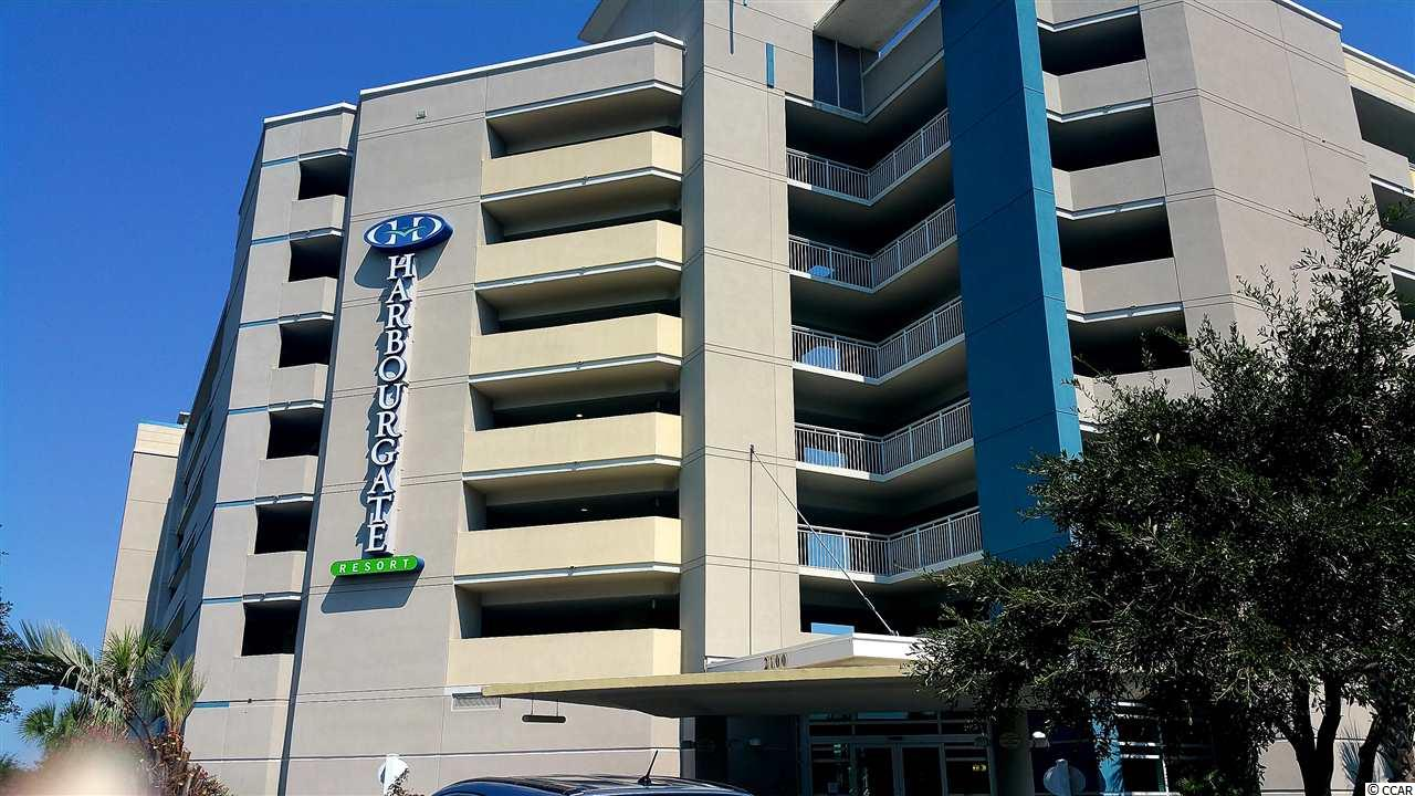 Harbourgate Resort & Marina is located on the ICWW in North Myrtle Beach, SC. It is a short walk to several area restaurants including Filet's, Captain Archies, and Tidewater Grill, as well as, boat and jet ski rentals, the Freedom Boat Club, waterway boat tours, and boat slip rentals. It is less than a 5 minute ride to the beach, area shopping, and most of the activities that North Myrtle Beach has to offer. Amenities include an outdoor pool and hot tub, workout room, and an enclosed lobby with front desk. Harbourgate Resort has so much to offer to water and boating enthusiasts, vacationers, second homeowners, and primary residents alike. This unit has been a primary residence, and has been well kept. The views from both the living area and the master bedroom are fantastic!