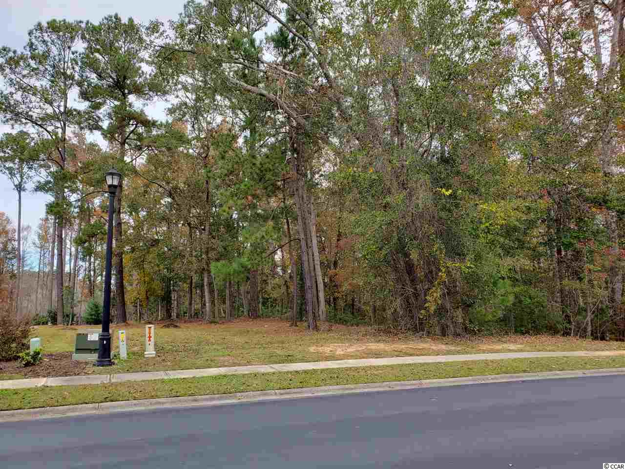 Spacious and desirable waterfront wooded lot overlooking the Intercoastal Waterway in an excusive gated community - waiting for you to build your new home on! Land features its own private dock, wooden walkway and boatslip, access to utilities and sidewalk on the frontage.  Excellent location in the gorgeous, sought-after Cypress River Plantation subdivision which includes the following amenities: convenient private boat storage across from boat landing, well-manicured landscaping and water fountain, 24 hour security and guard gate, private clubhouse with two swimming pools and lounge area, tennis court, gym facilities and playground. Land has not flooded and is well positioned within this subdivision with added privacy as the neighboring lot to the right consists of wetlands.