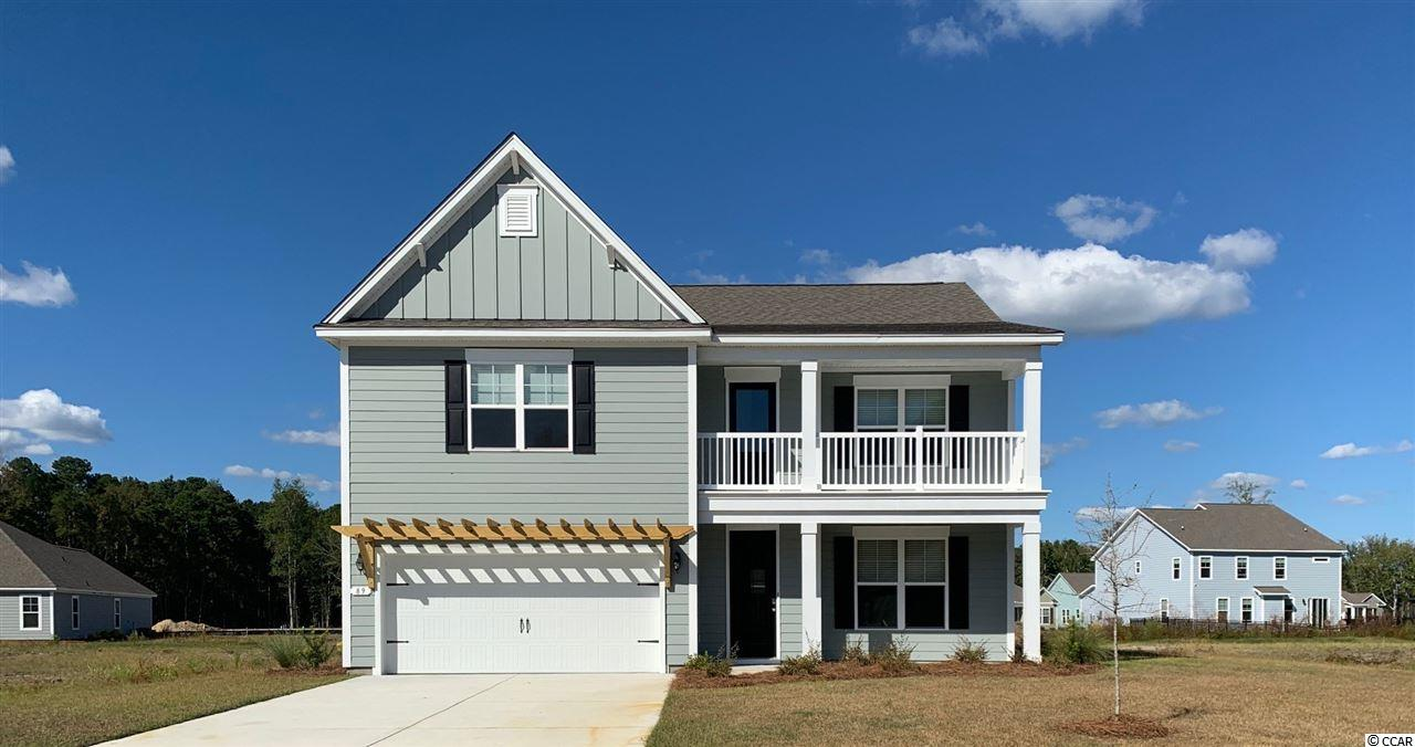 "Located in wonderful Pawleys Island, Hammock Cove offers close proximity to tons of golf, restaurants shopping and the famous ""beach at Pawleys Island!  This gorgeous ""Tillman"" with screened porch on culdesac home site . Daltile 7x20 tile  floors flowing into the dining room, kitchen, and living space, with crown. Incredible standard features including granite counter tops, tile backsplash, stainless steel appliances, and an oversized island in the kitchen. Master bedroom suite is conveniently located on the first floor, with a spa like 60""tile shower. Upstairs there is a loft area, along with 4 large bedrooms, two full baths, and a laundry room. This is very much a favorite design with its open design and entertaining zones!"