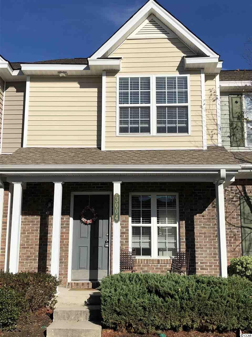 This is a beautiful, well maintained two bedroom, two and half bath townhouse. There is a half bath, kitchen, dining area and living room on the first floor with an open floor plan. The second floor offers two bedrooms with two full baths, washer and dryer. This home also features an inviting front porch and a private screened in back porch. Bring you clothes and move right in !!!! This home comes completely furnished right down to kitchen dishes, pots and pans, silverware, bed linens, towels and wash clothes. Two TV's are also included. A gas grill and porch furniture. Turn the key and you are home. This home is Located in the desirable community of Midtown Village. This is a maintenance free living community. The HOA includes : Your insurance on the unit, water, garbage and sewage. Basic cable. All lawn care, irrigation system. The swimming pool and club house.