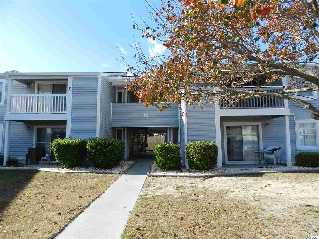 You will love this condo. 1 bedroom/ 1 bath condo approximately 1 mile from the beach. Fully applianced with an attached storage unit. Pool on premises. Conveniently close to restaurants, shops, and the beach. HOA dues are very low.