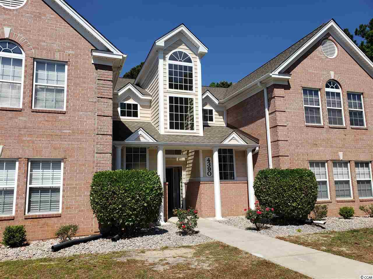 Check out this ground floor condo in Murrells Inlet, SC! This 3 bedroom, 2 bath unit features beautiful laminate floors with a spacious living area & den! Each bedroom has spacious closets and ample storage space, and these ground floor condos are highly desired. No stairs to access the unit, and no waiting on elevators! This complex also features an outdoor pool and tennis court for owners and owner's guests. In addition, this property is located 1/4 mile to the Waccamaw Hospital, food, shopping, and more. Enjoy the isolation of Murrells Inlet, but also enjoy the short proximity to everything Myrtle Beach has to offer! Golfers will enjoy the convenience of the Wachesaw Plantation Golf Course which is located right across the street from the complex. This first floor unit will not last long; MOTIVATED SELLER!